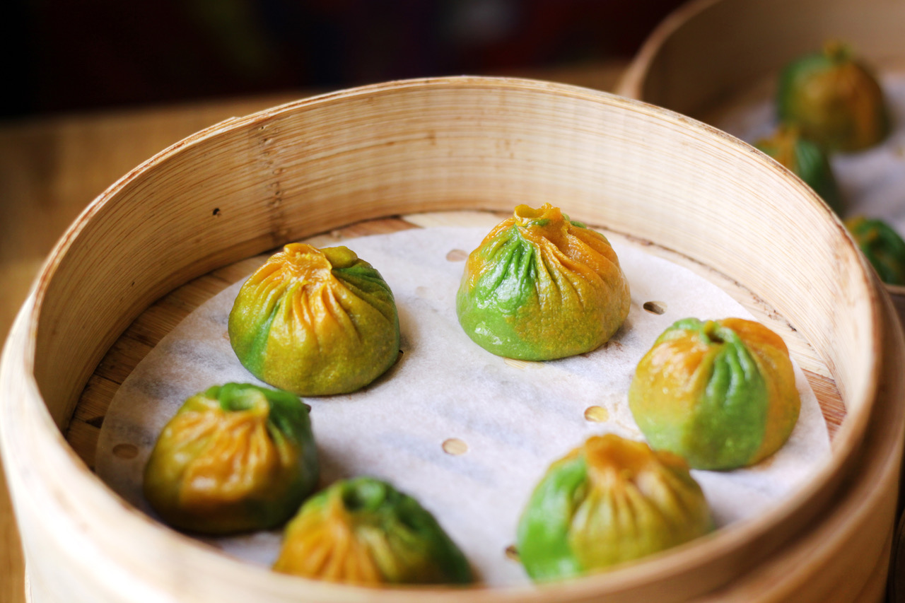 Rainbow-Toned Dumplings and Cantonese Roast Meats Will Arrive in Borough Next Month