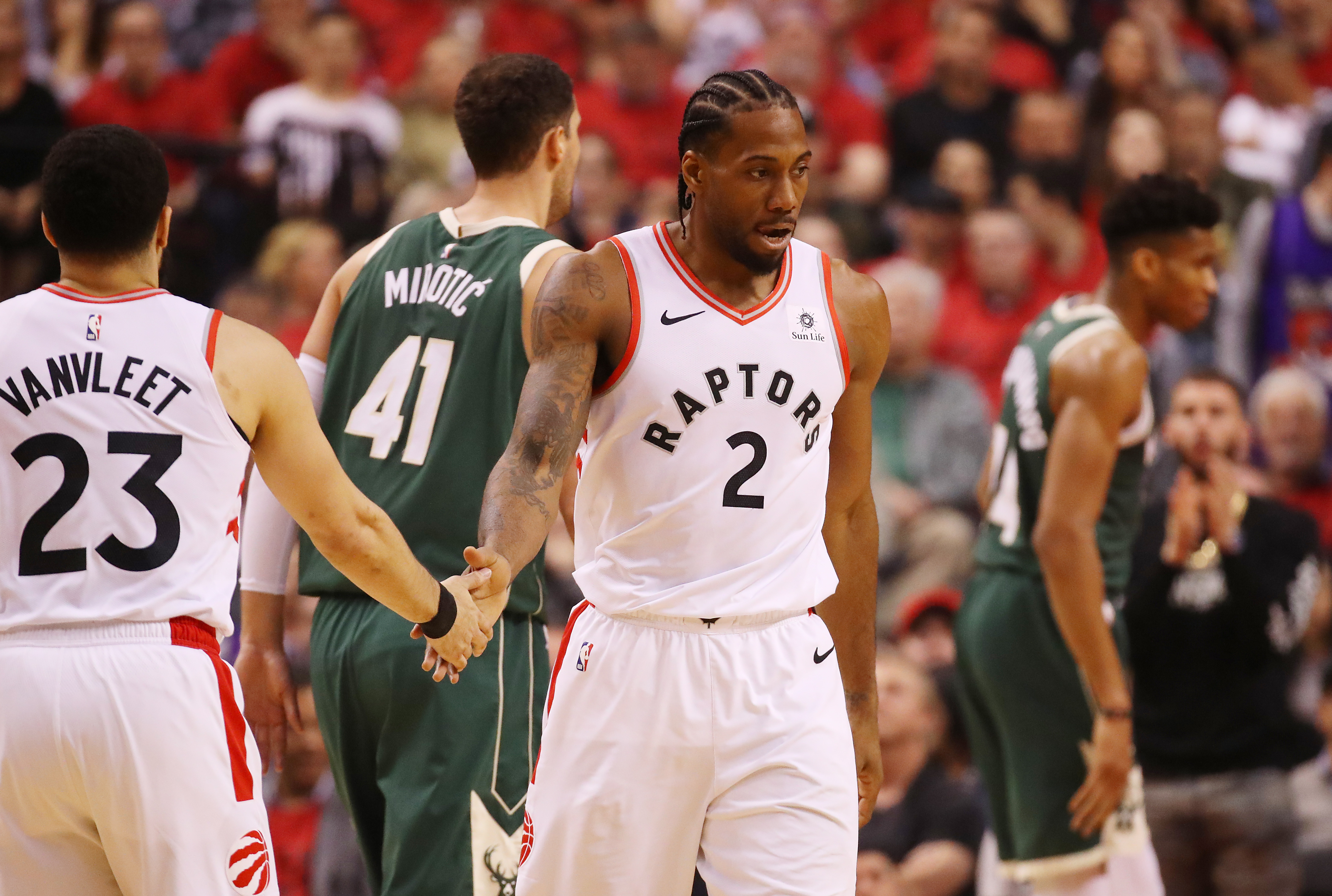 Raptors betting underdogs at Bucks in pivotal Game 5