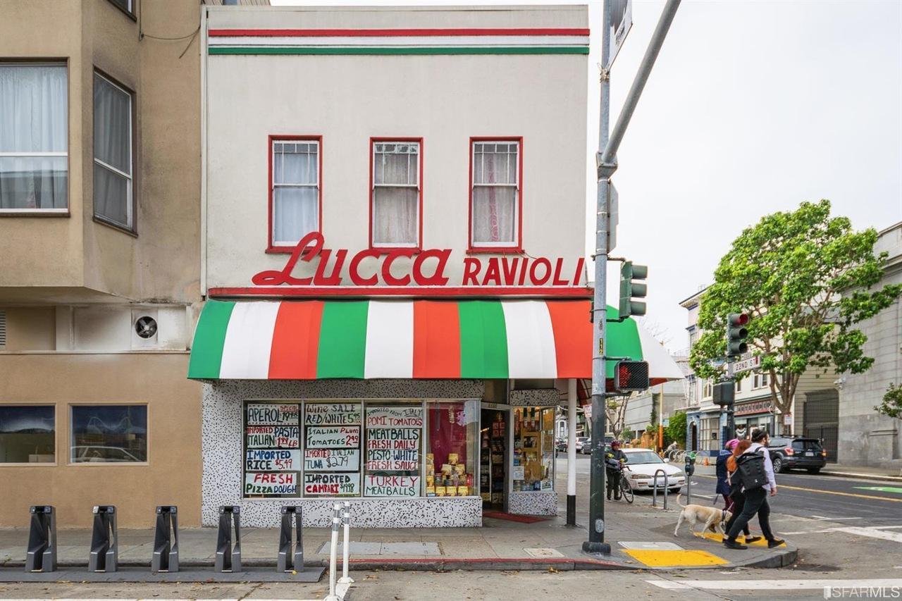 Lucca Ravioli in San Francisco's Mission District.