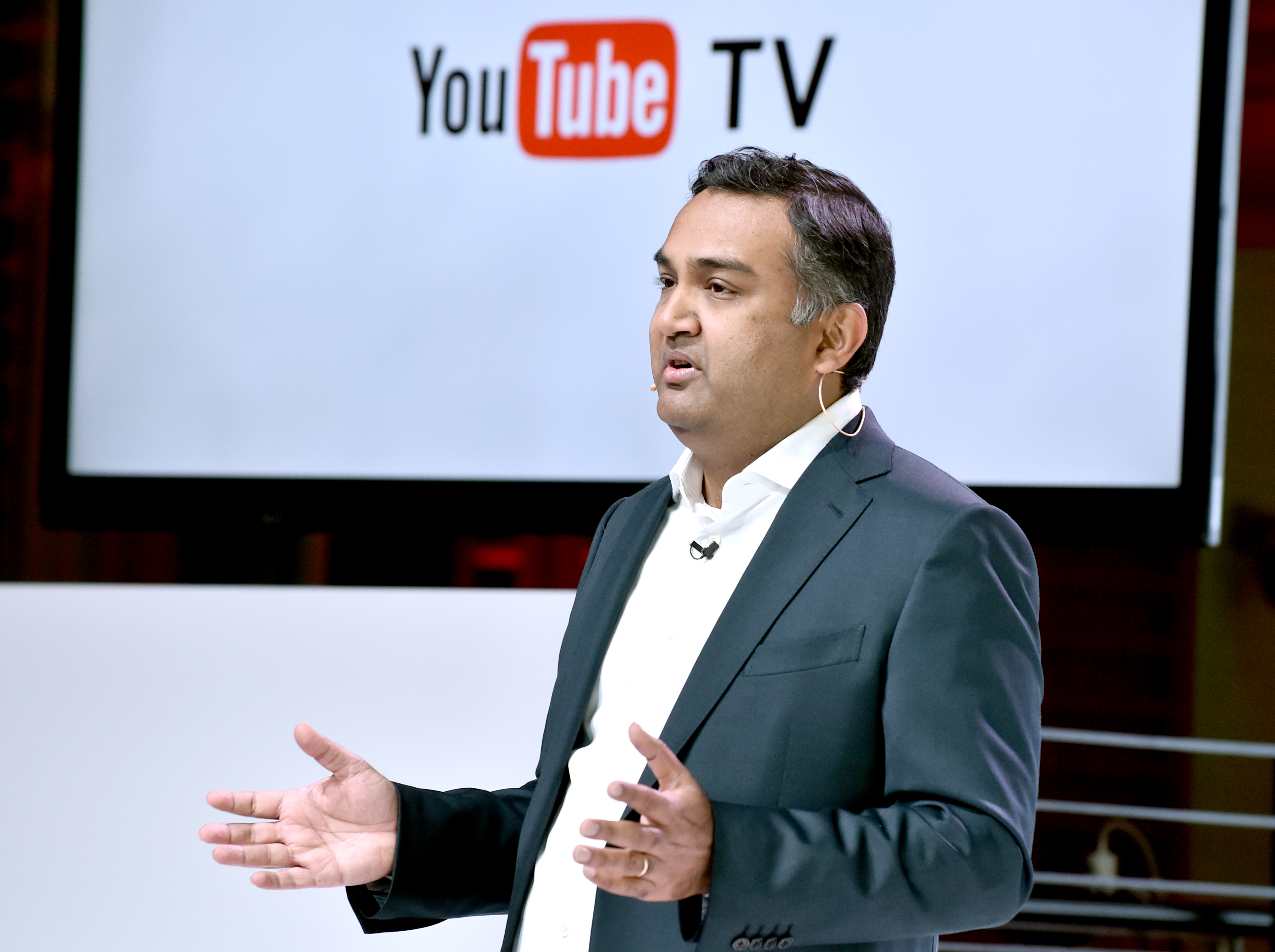 YouTube Chief Product Officer Neal Mohan.