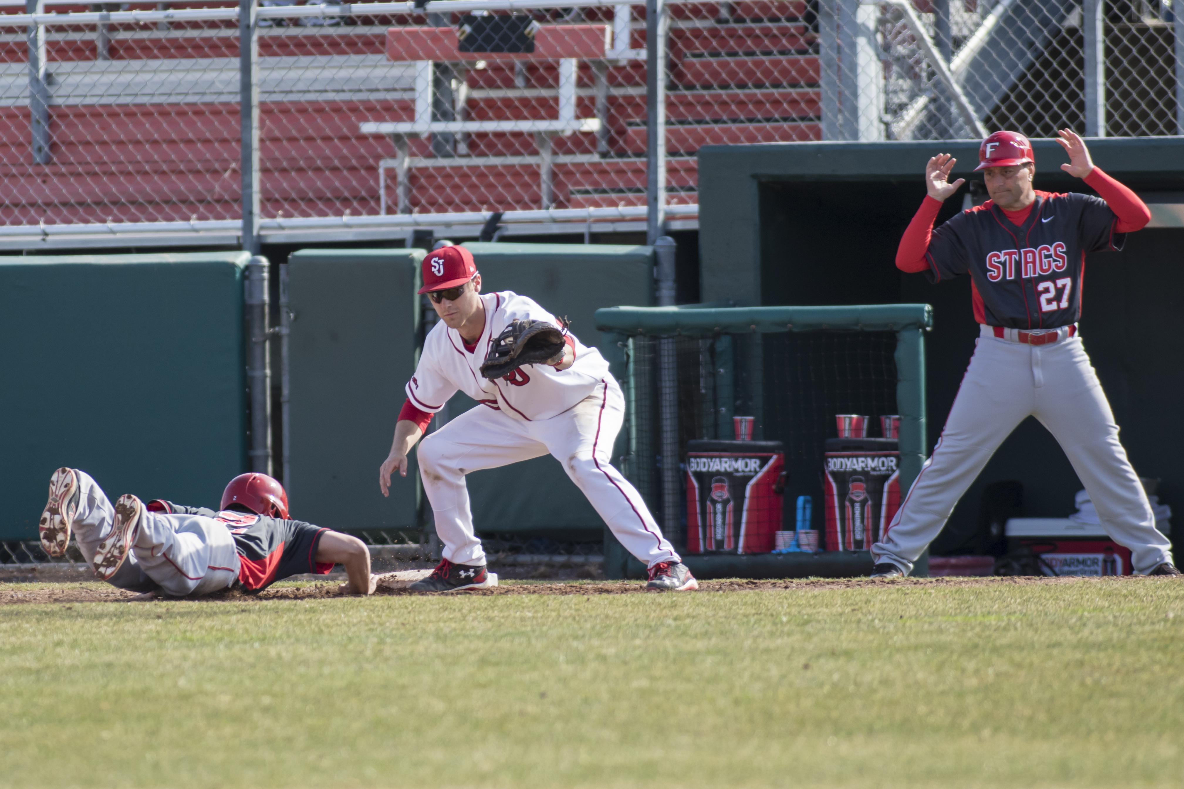 SJU vs Fairfield baseball
