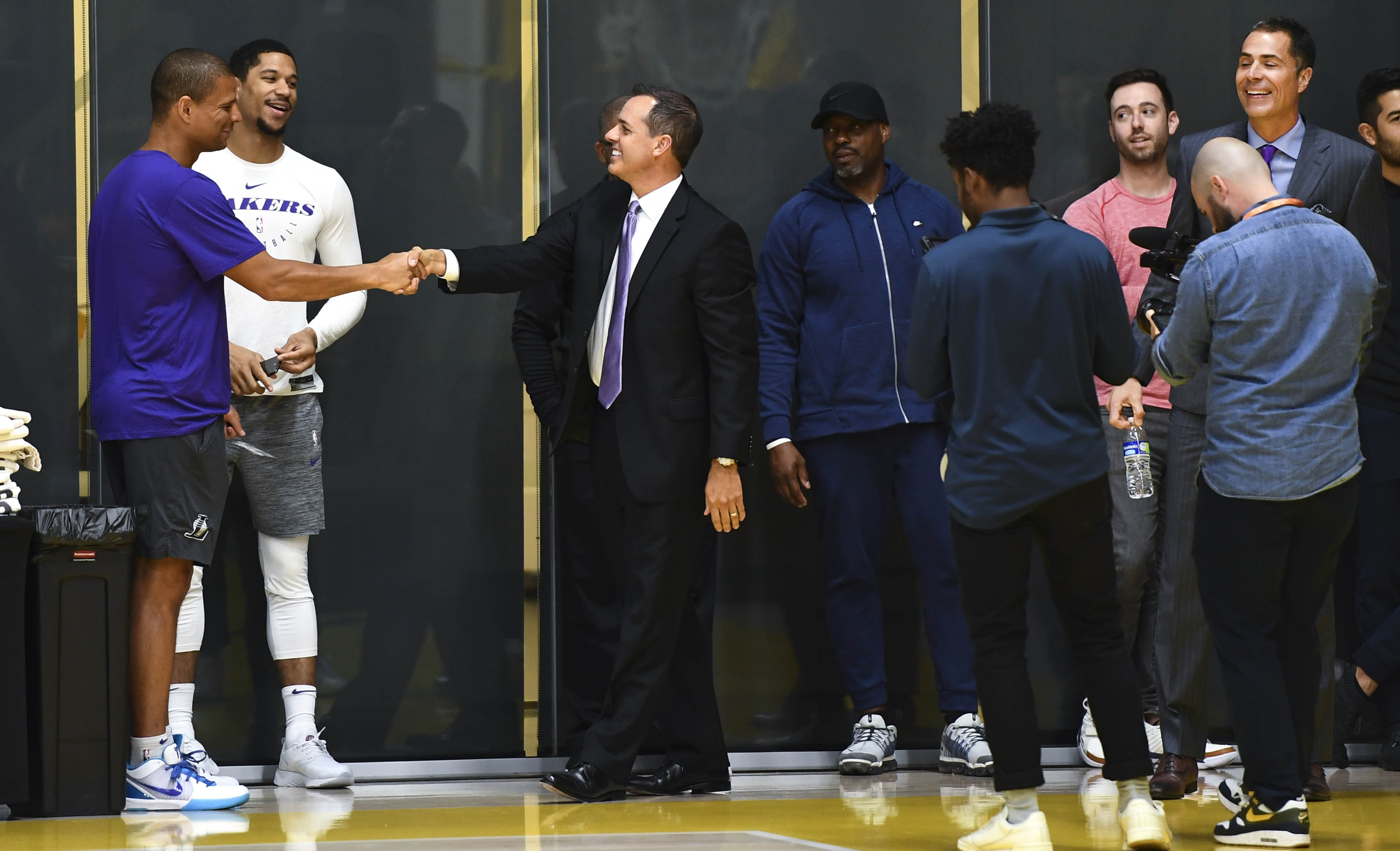 87dc04034 Frank Vogel thinks the Lakers are in a great position to have success  moving forward
