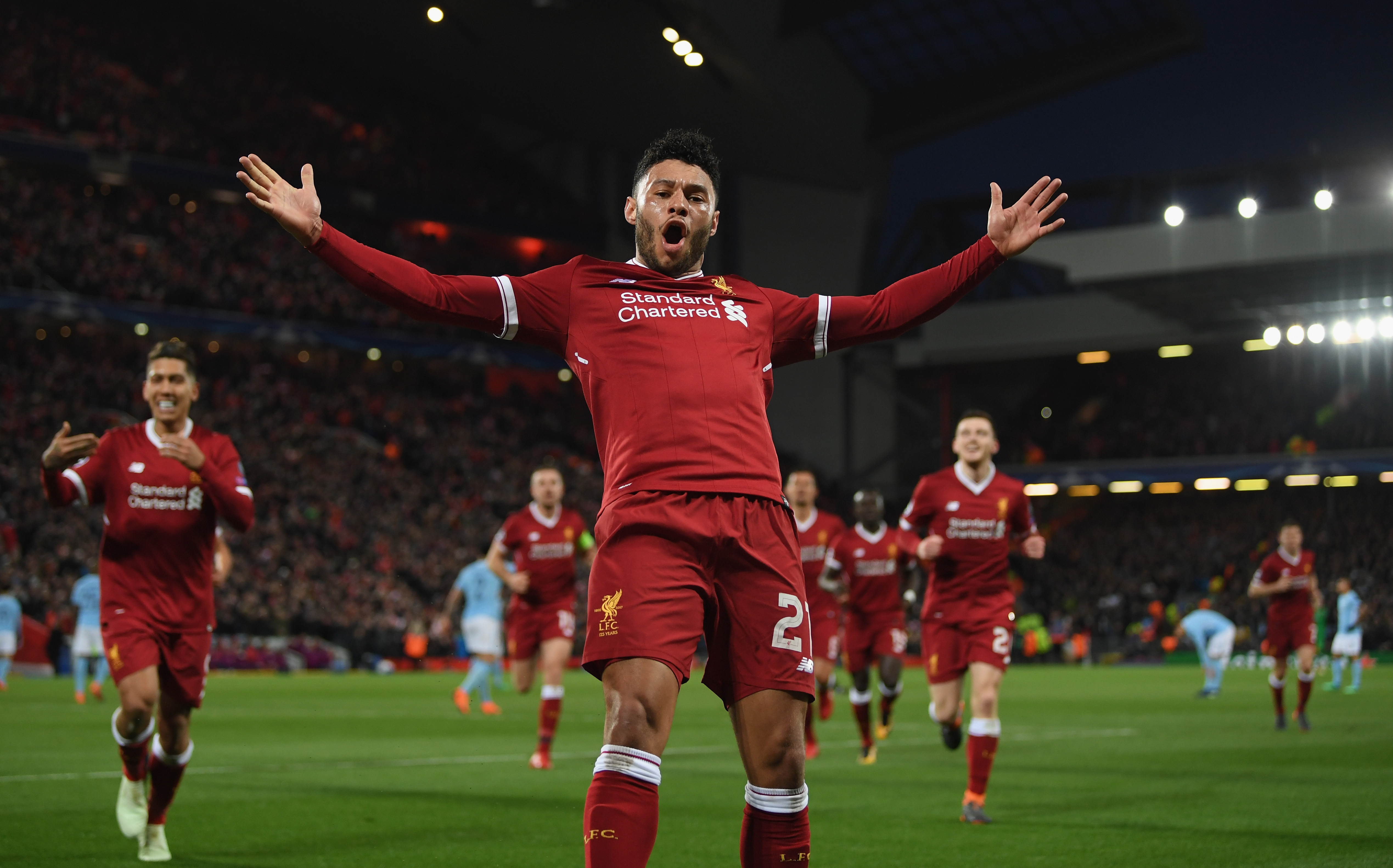 "Oxlade-Chamberlain: ""It's Amazing to Be Involved"""