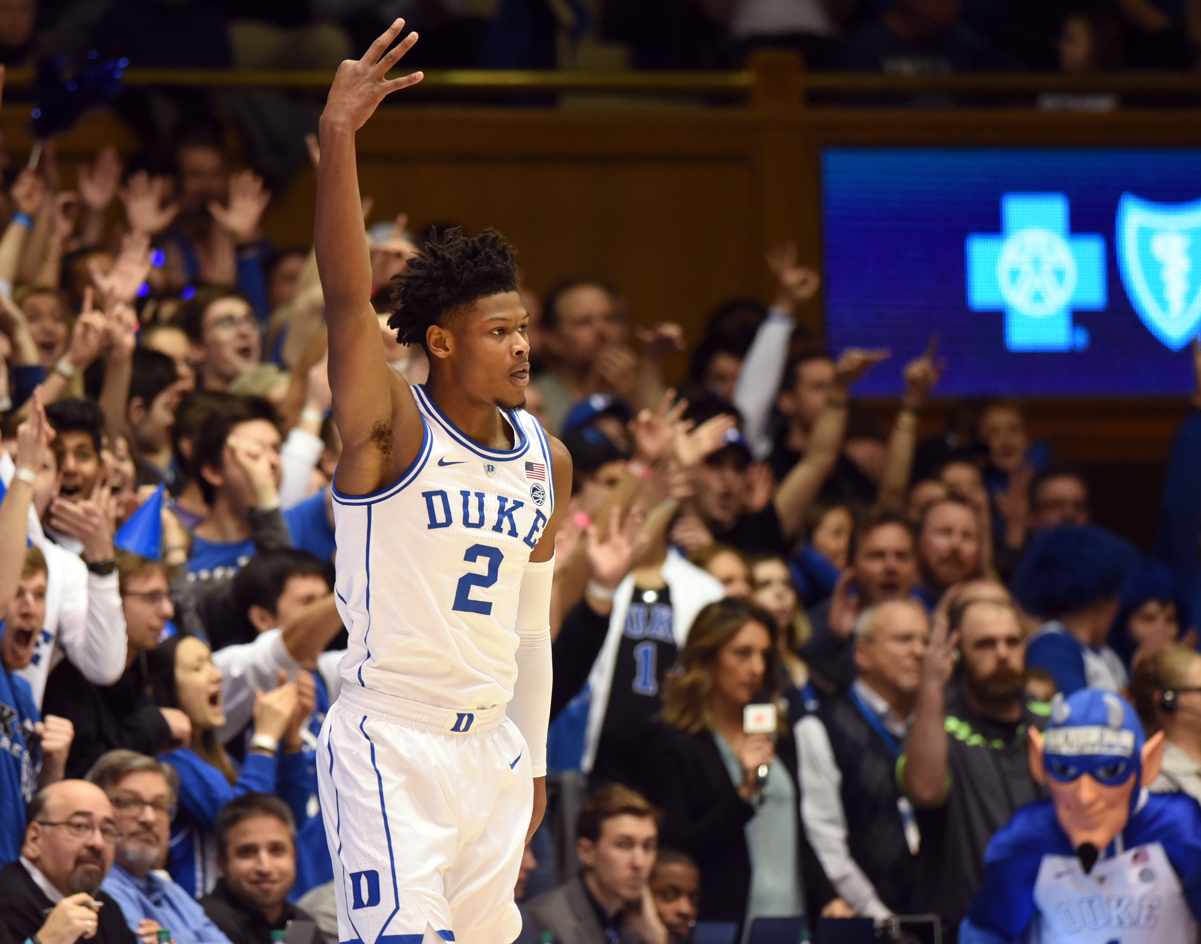 NCAA Basketball: St. John at Duke