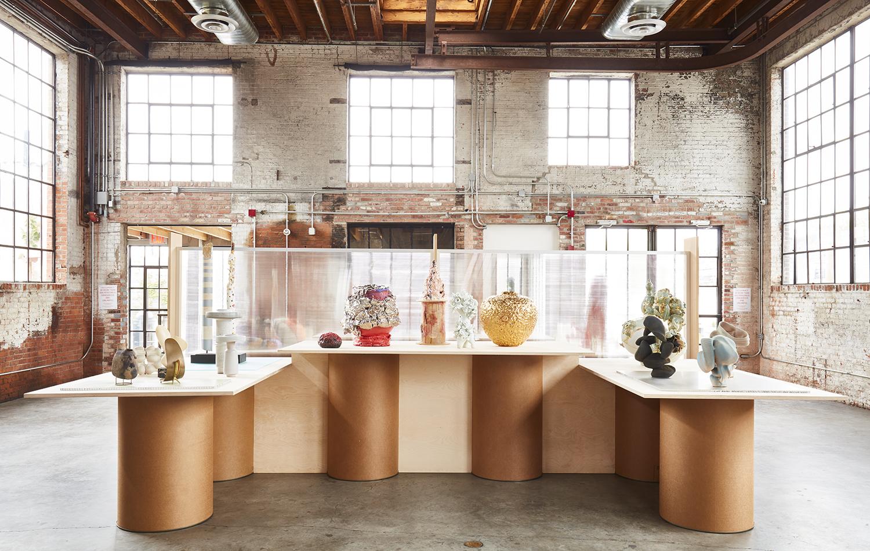 A Bushwick, Brooklyn, warehouse full of art and design works