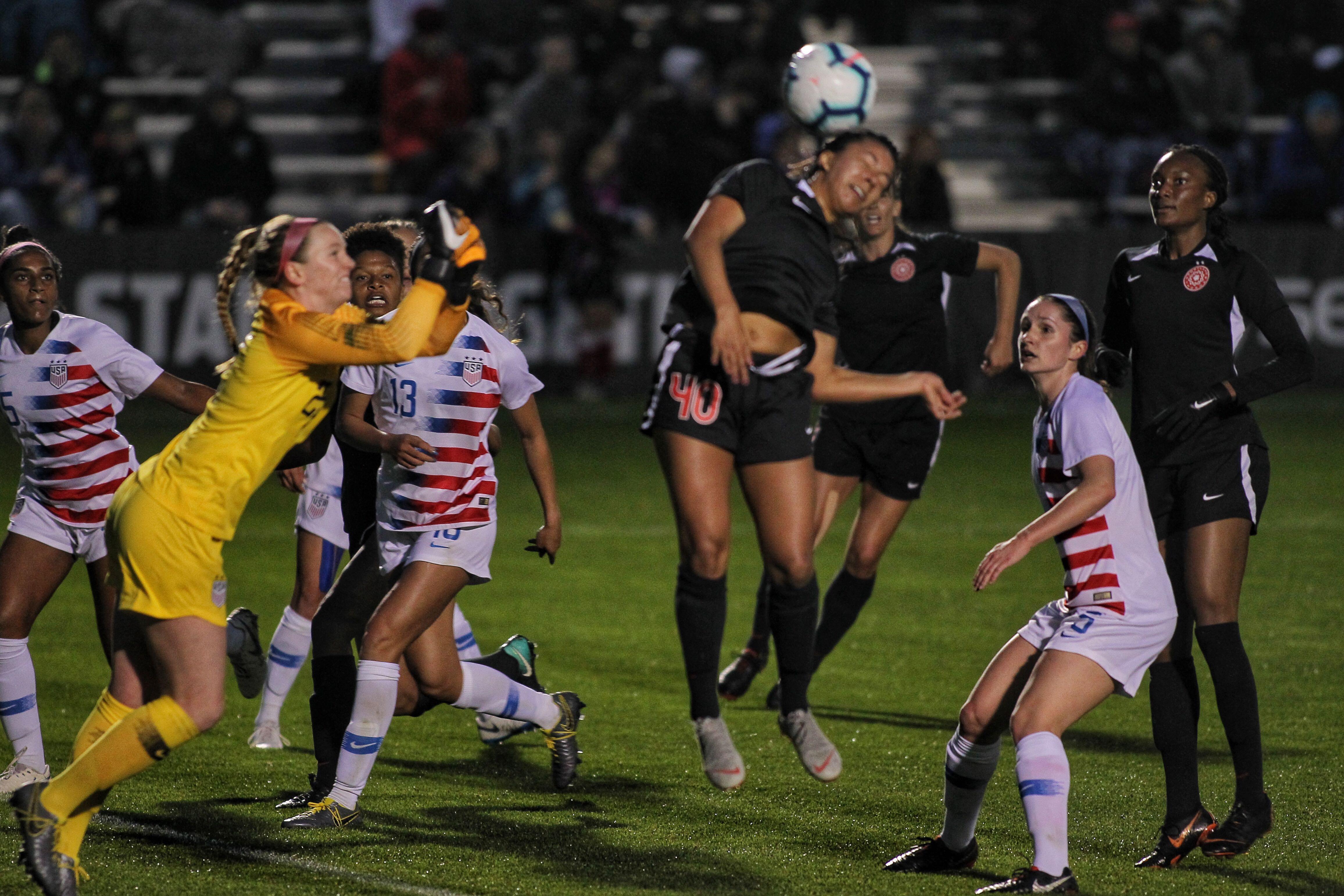online store d0481 2d39f Thorns sign Marissa Everett as a National Team Replacement Player