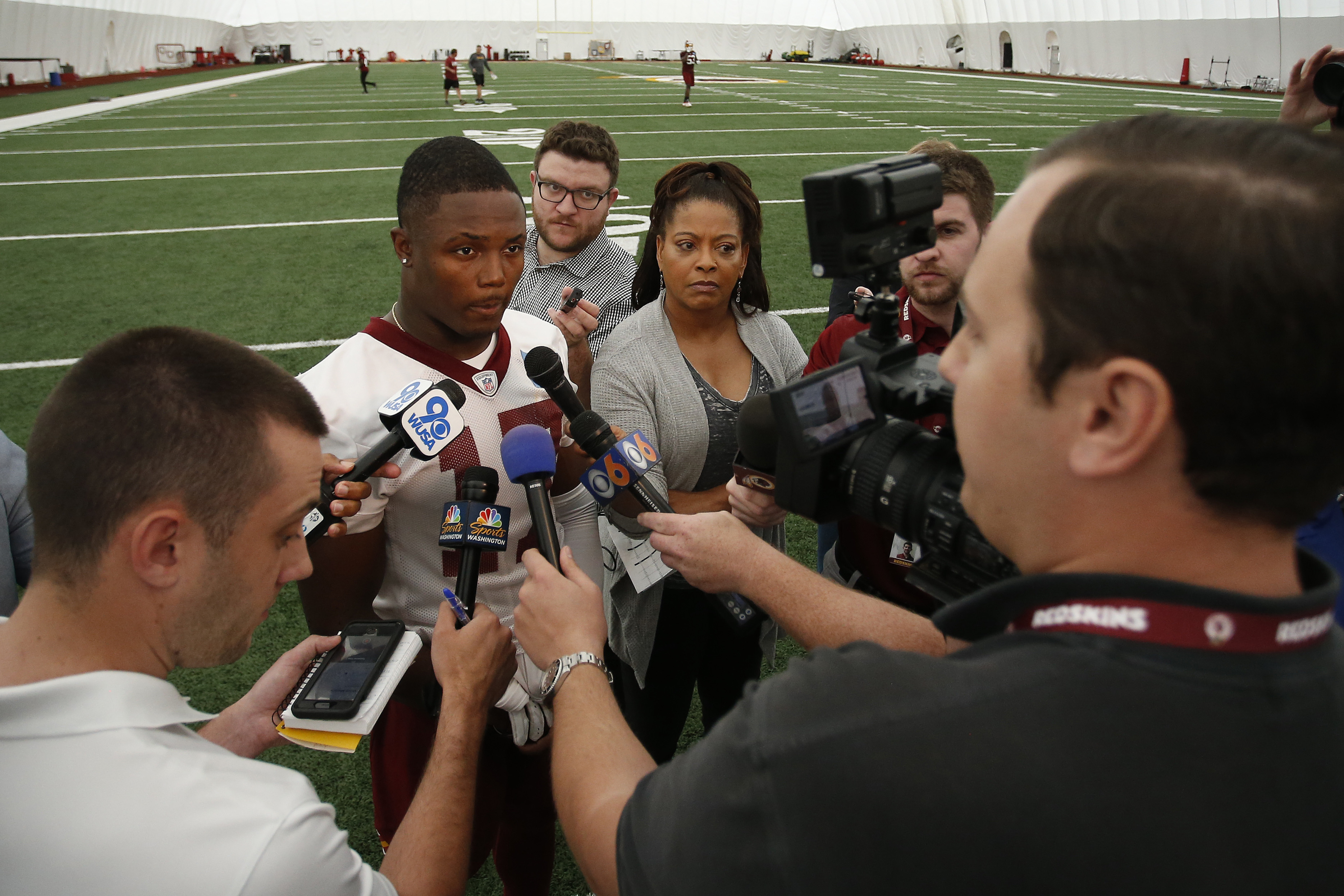 NFL: Washington Redskins-Rookie Minicamp