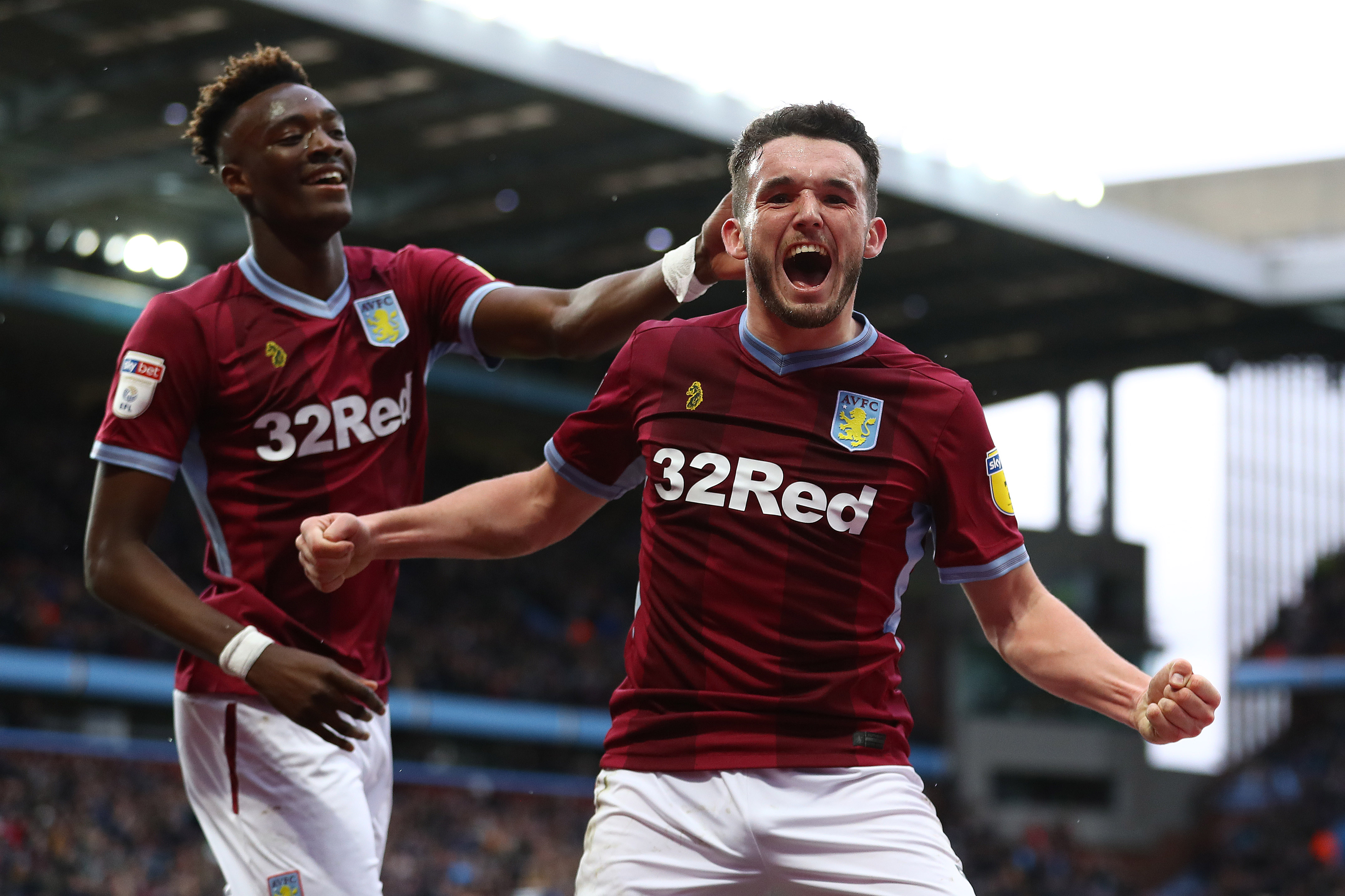 John McGinn wins award for the Championship Goal of the Season