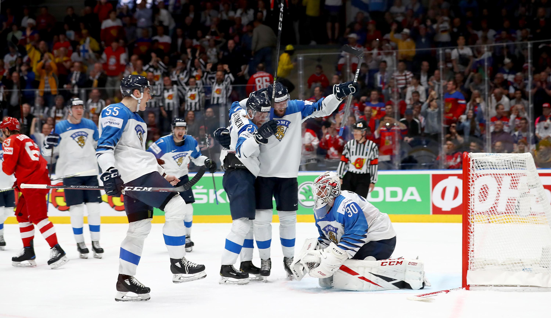Russia v Finland: Semi Final - 2019 IIHF Ice Hockey World Championship Slovakia