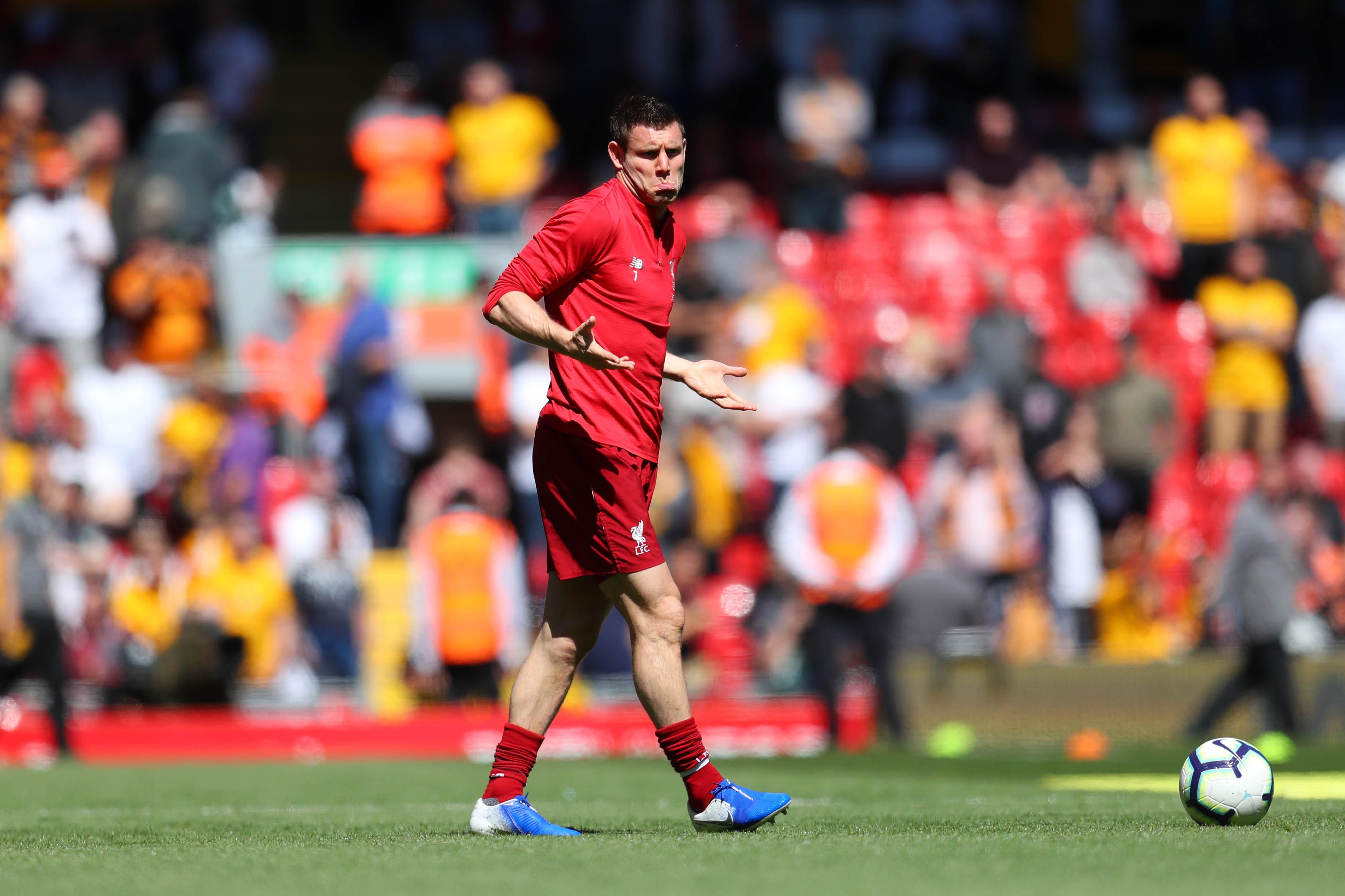 James Milner Sticks the Knife in on Lionel Messi