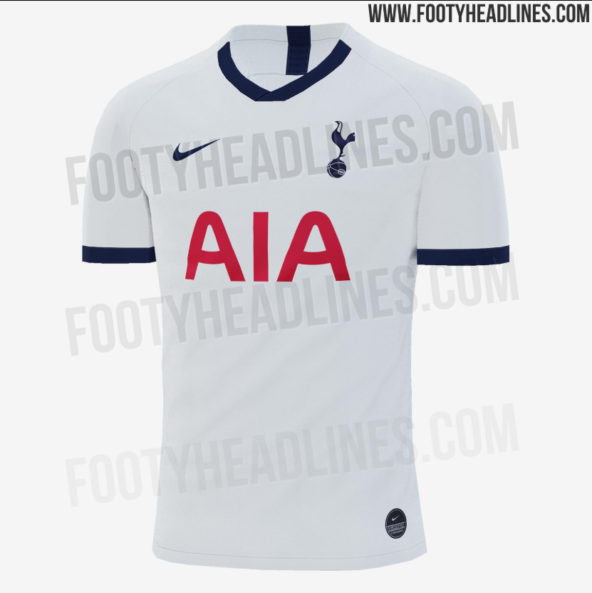 Tottenham's 2019-20 home kits leak and this time they aren't flashy