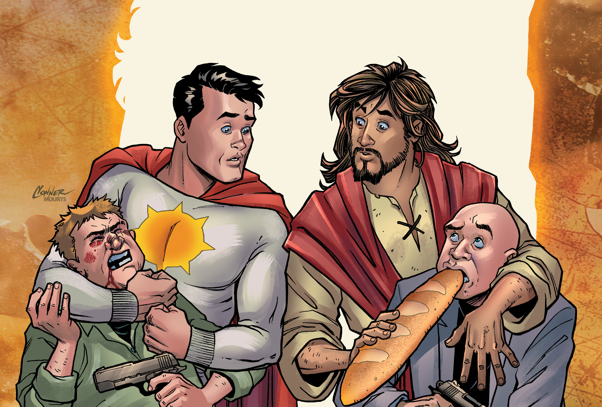 How a cancelled comic about Jesus and superheroes found its resurrection