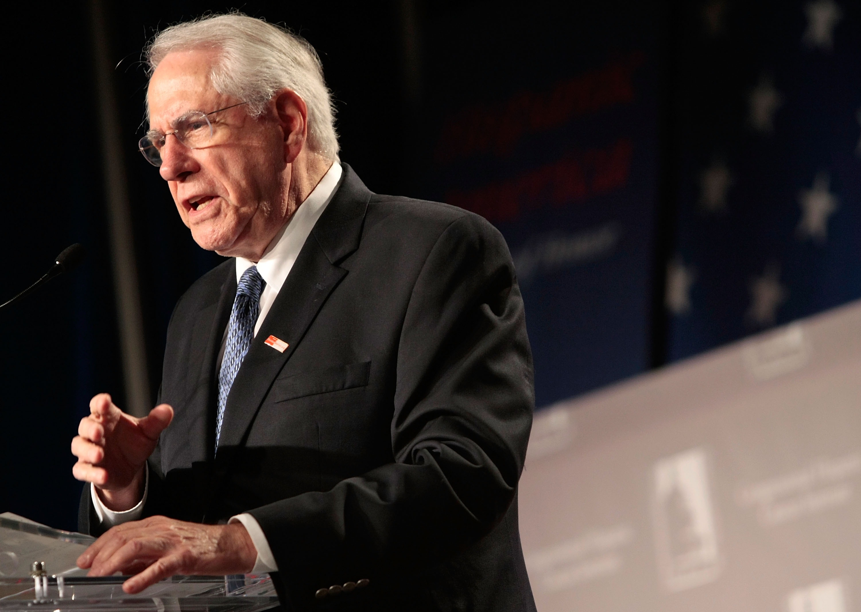 Presidential candidate Mike Gravel.