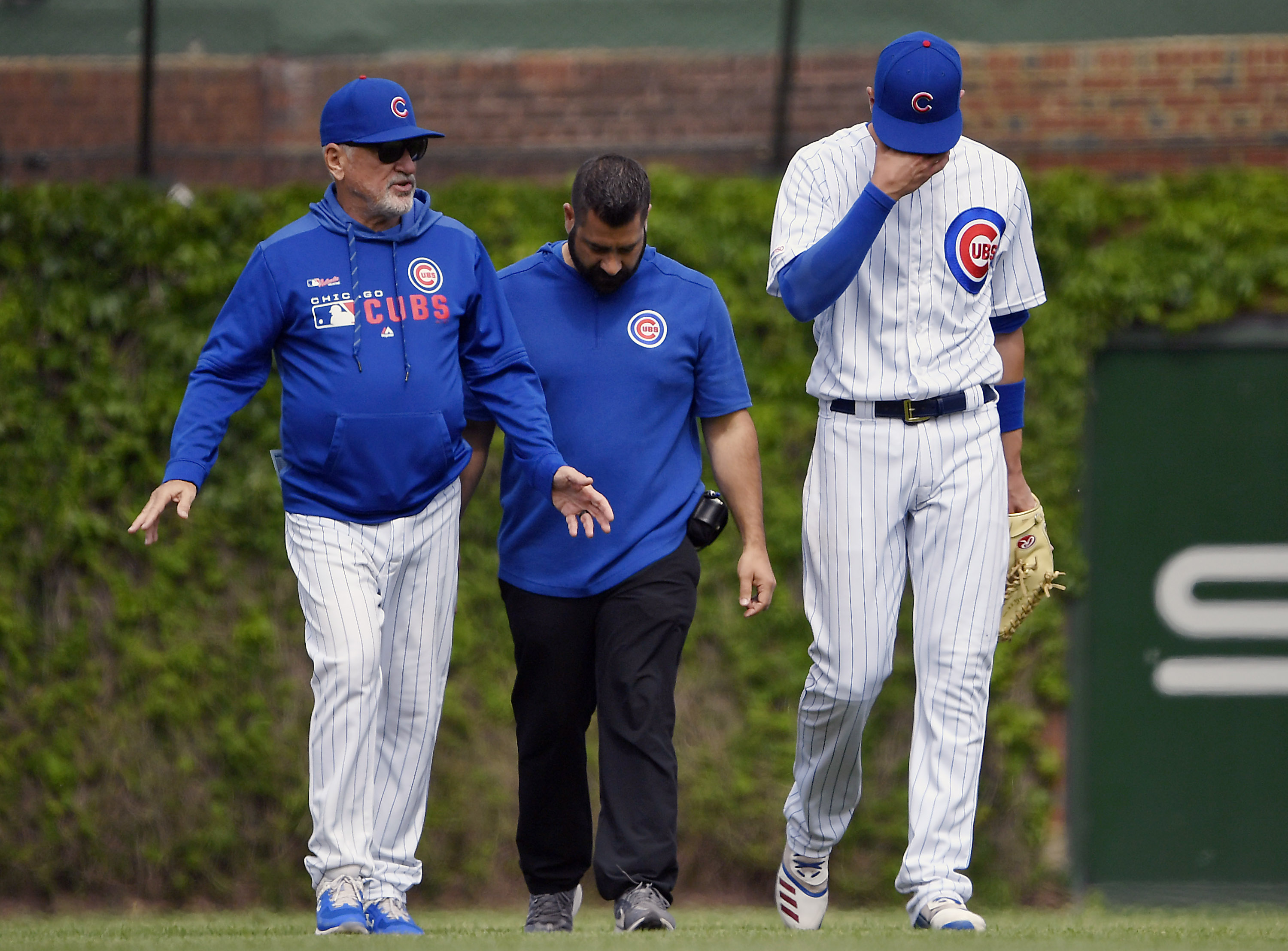 finest selection d8fa9 30475 Cubs' Kris Bryant remains sidelined, under evaluation after ...