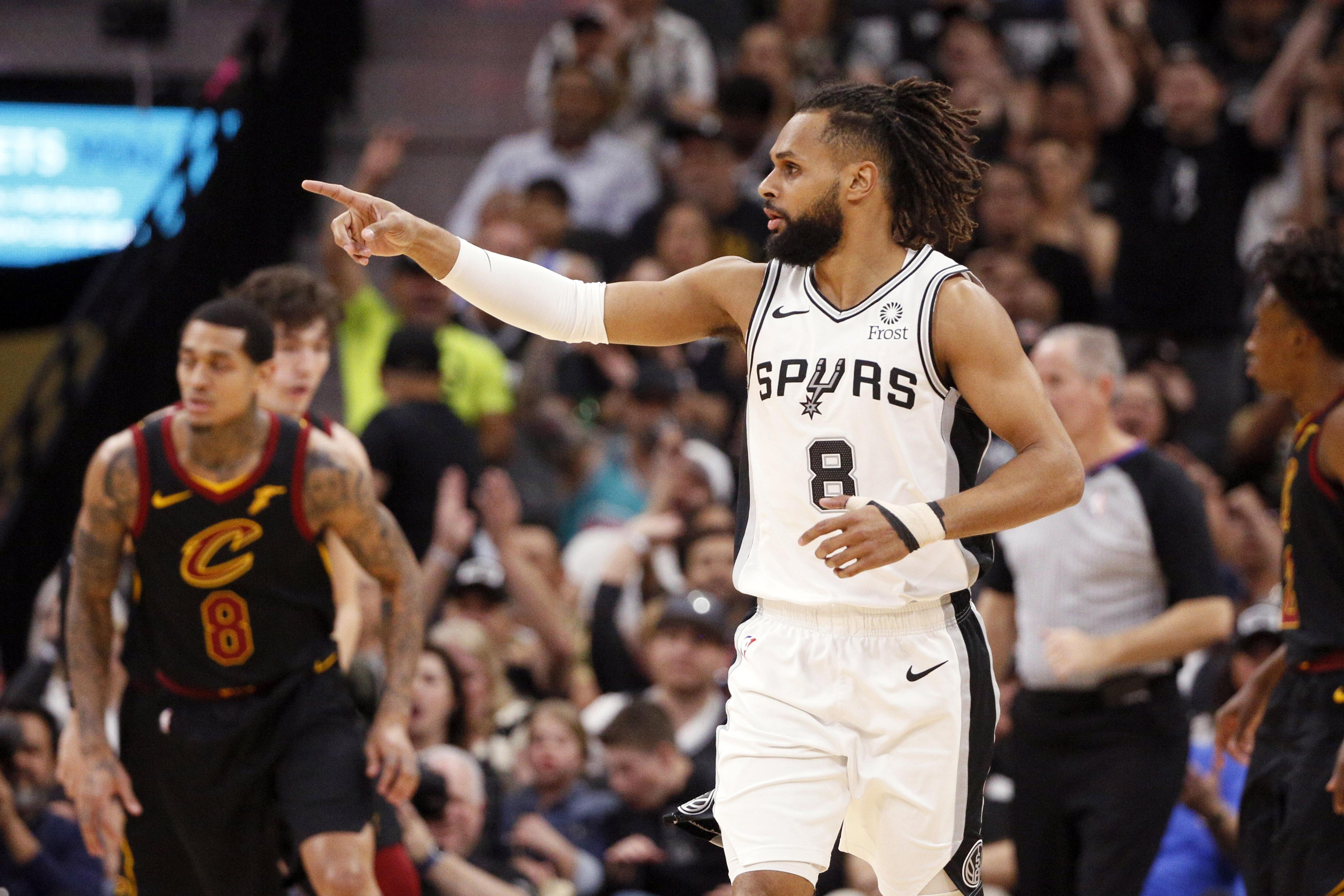 NBA: Cleveland Cavaliers at San Antonio Spurs