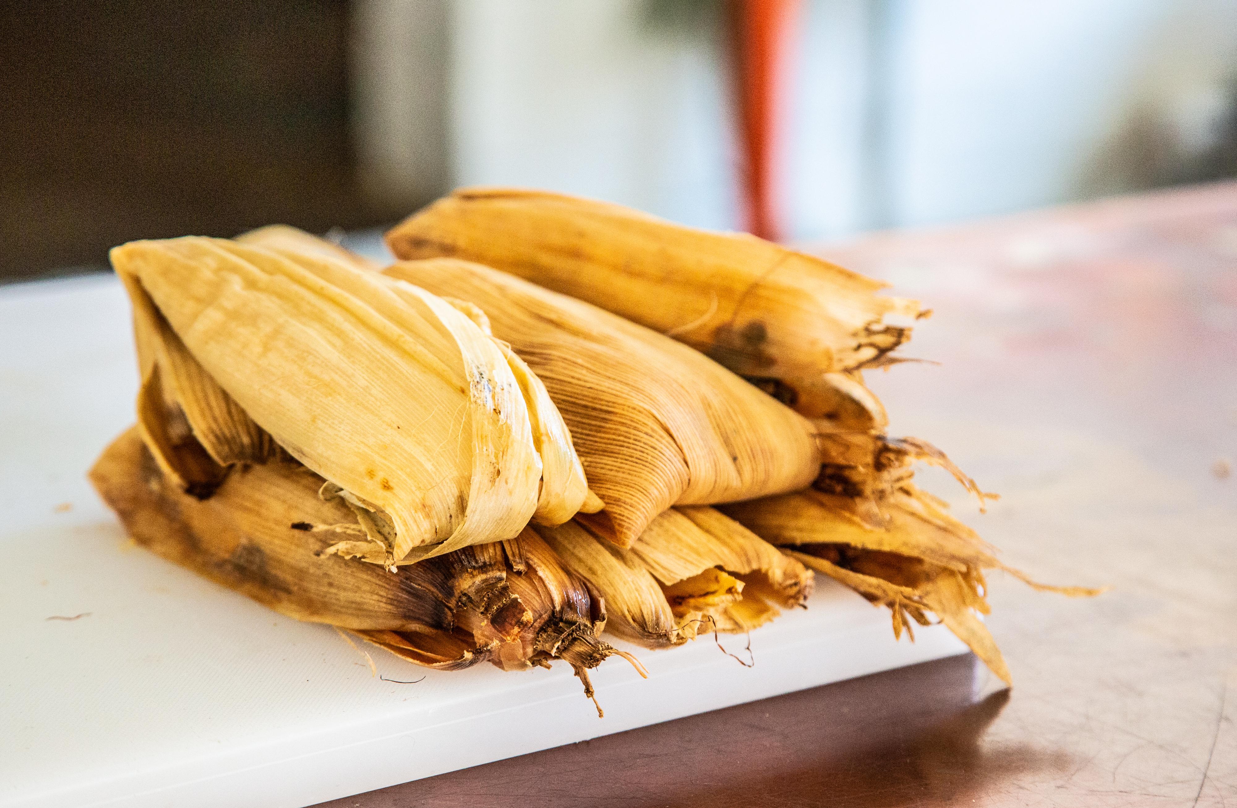 tamala made by chef Maricela Vega