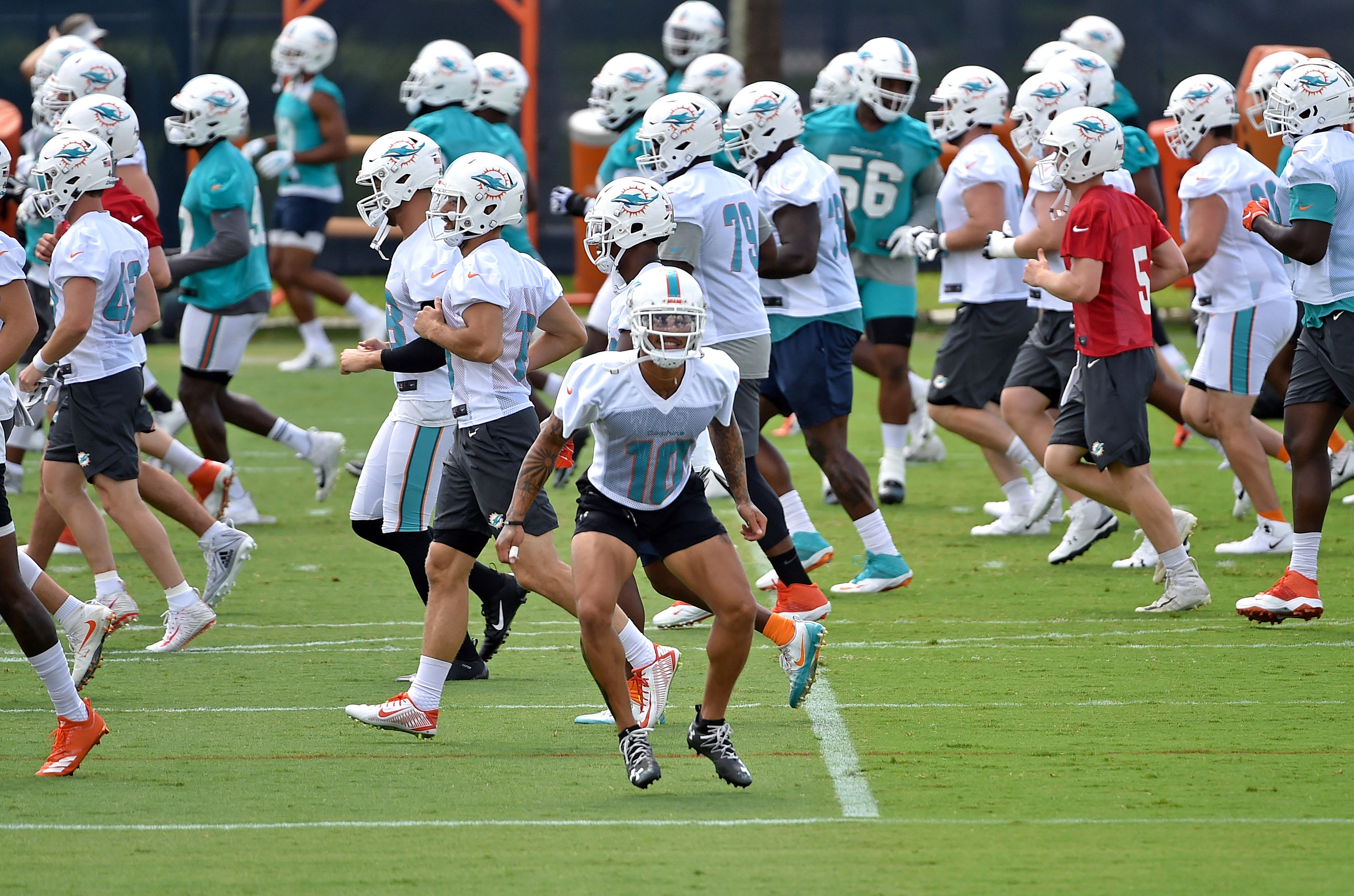new arrival 52a63 8766f Dolphins depth chart 2019: OTAs update - The Phinsider