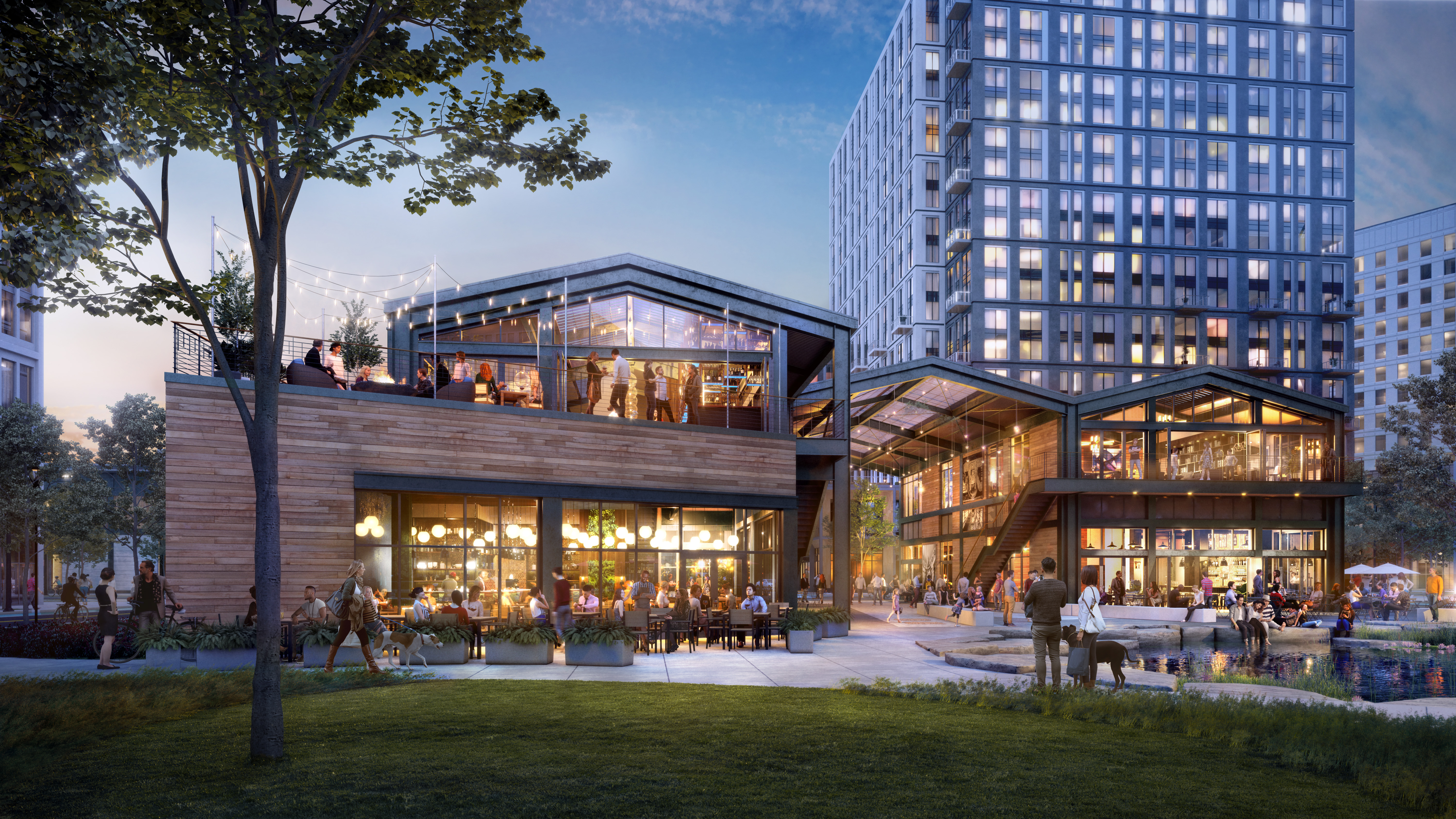 Puritan & Co. Team Plans New Restaurant With Rooftop Terrace Cocktail Bar
