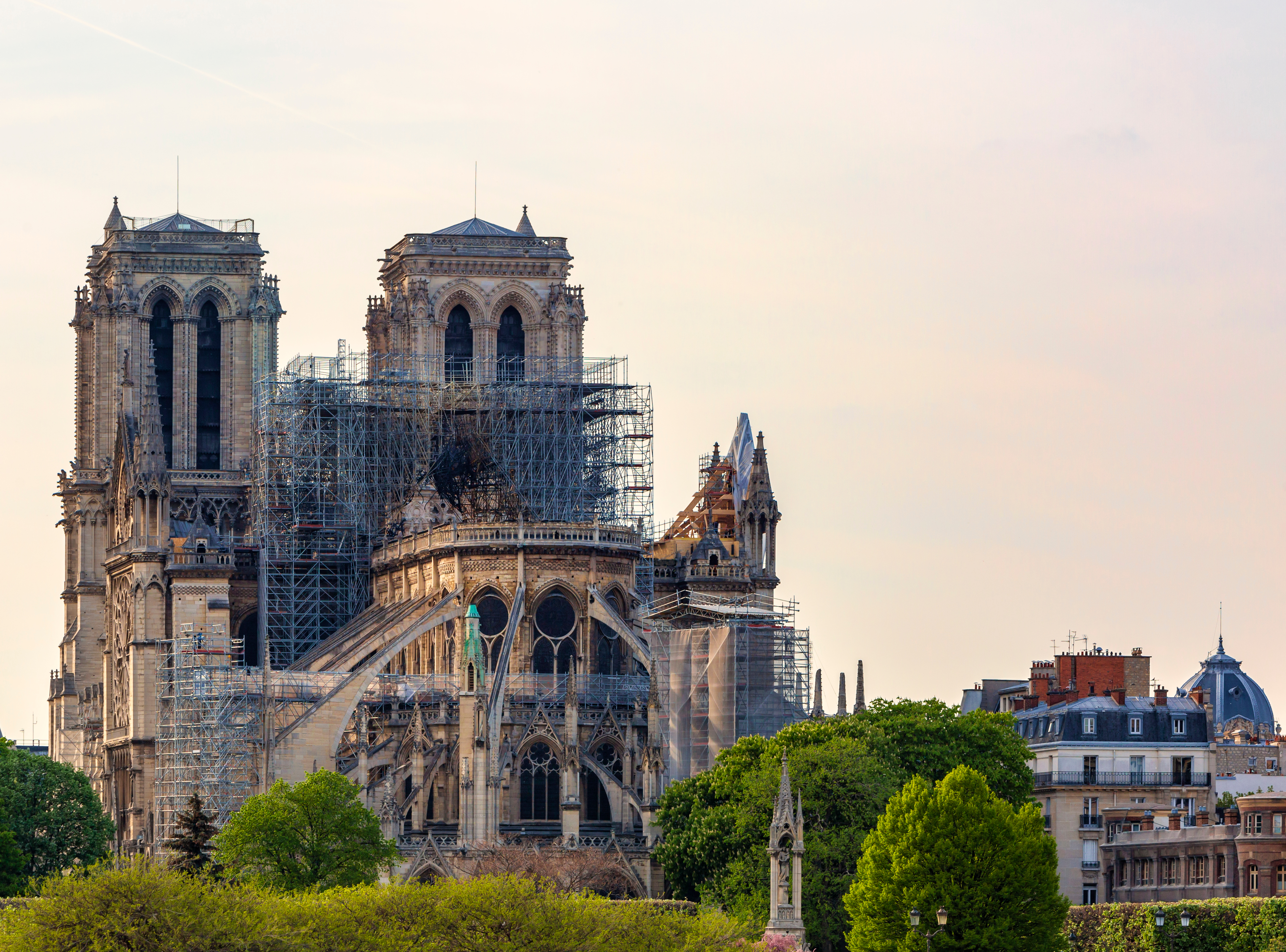 Notre Dame must be restored to original state, says French Senate
