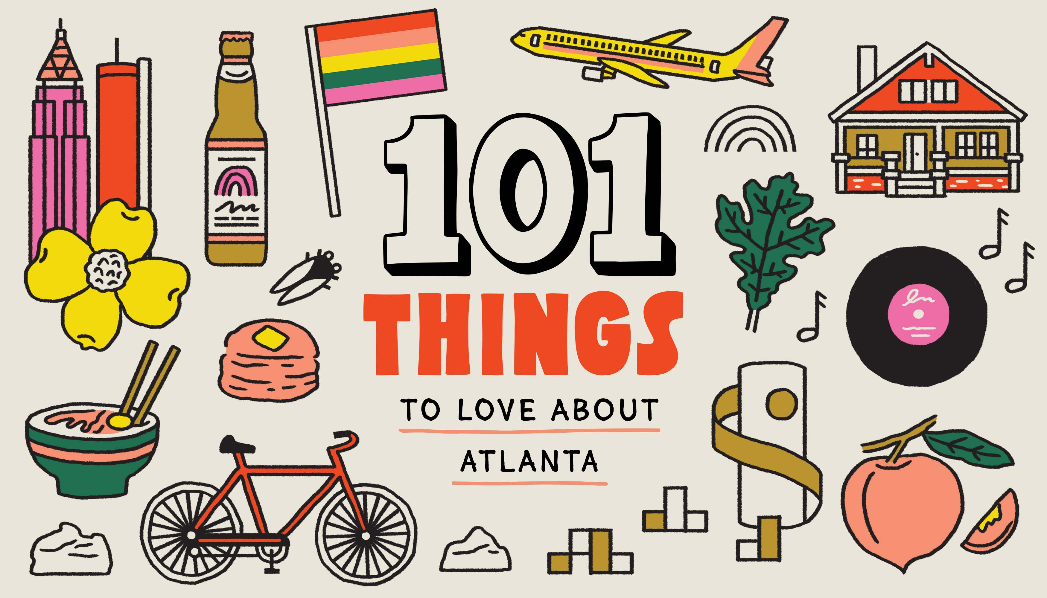 101 things to love about Atlanta