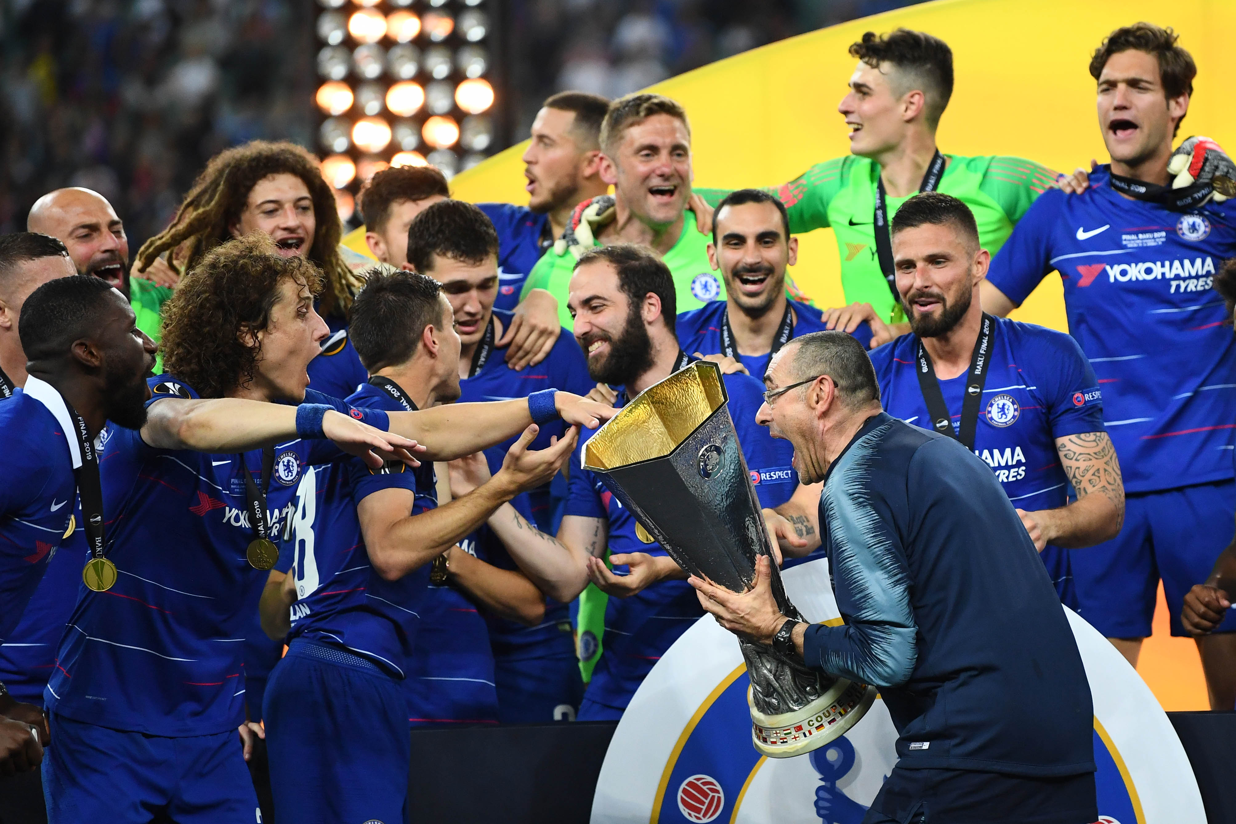 Sarri salutes 'courageous' second half response to win it for 'the front of the shirt'