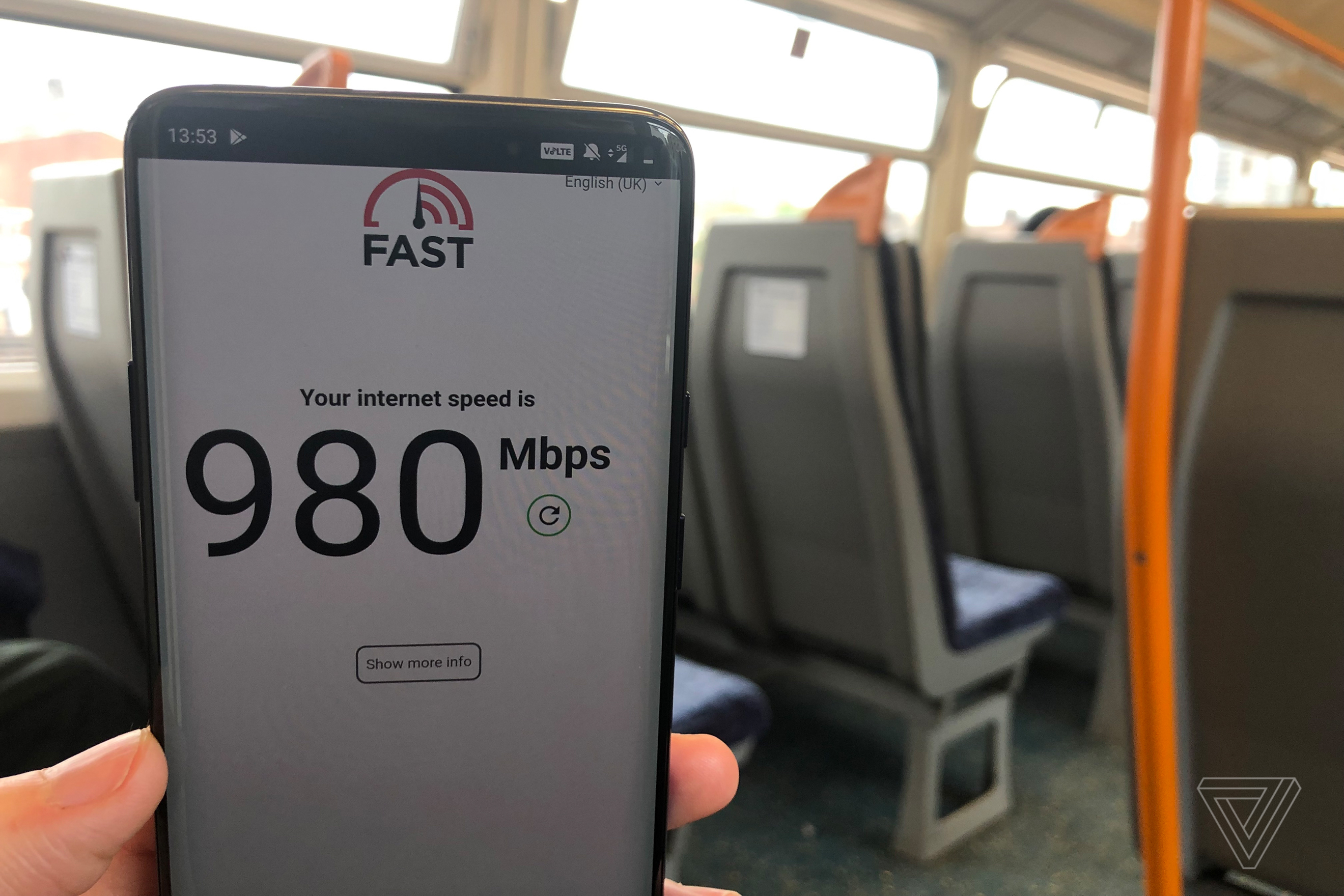 5G has arrived in the UK, and it's fast - The Verge