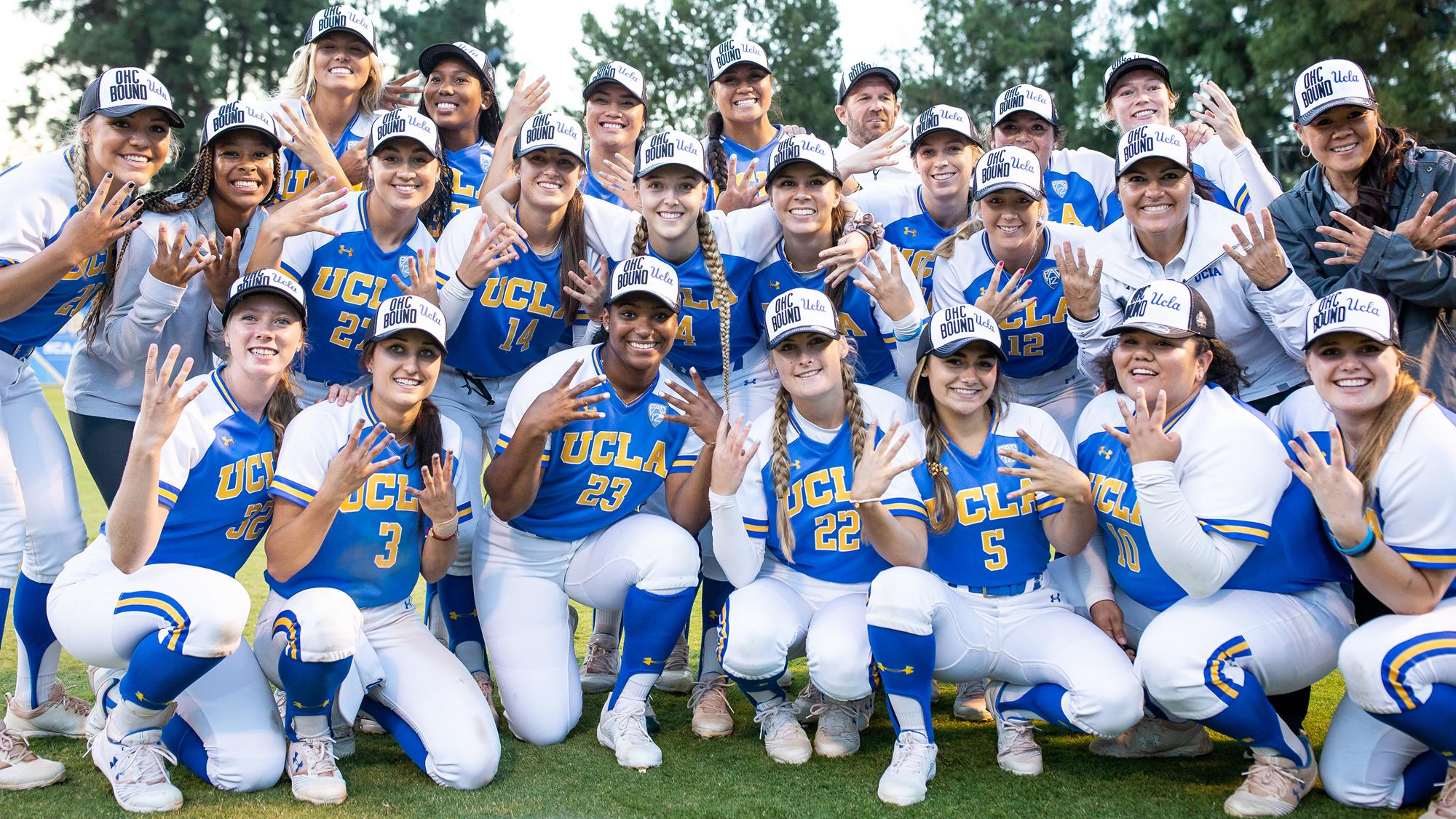new styles f5c6a e3183 UCLA Softball Open WCWS Against the Minnesota Golden Gophers. New ...
