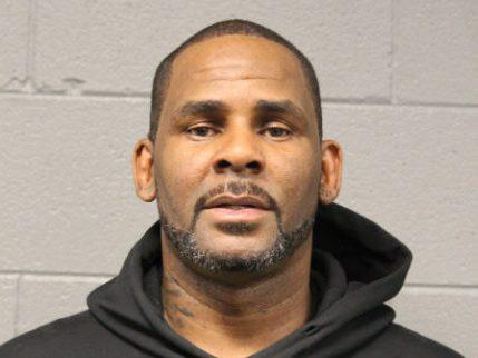 R. Kelly's arrest mugshot