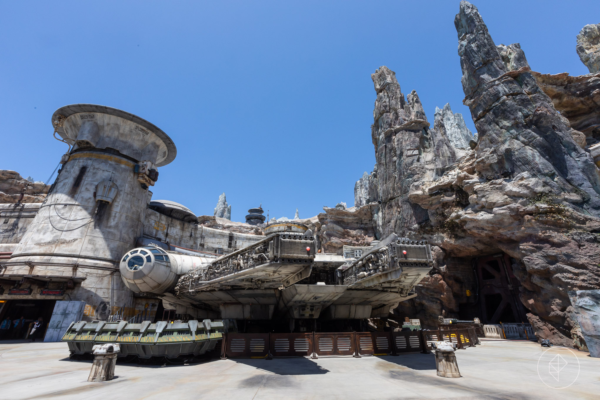 Disneyland's Galaxy's Edge.
