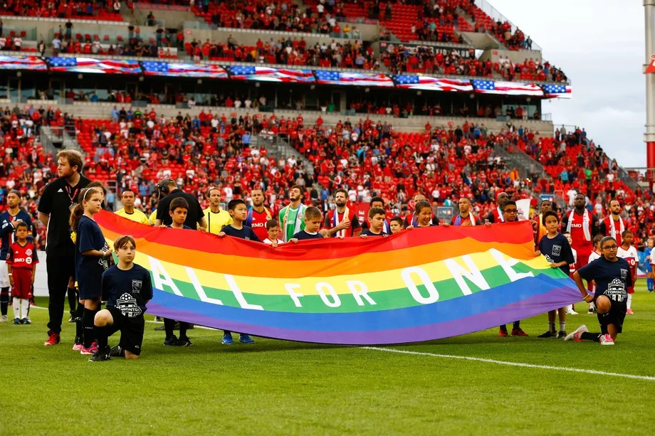 Pride, soccer, MLS, Pride Nights, Toronto FC