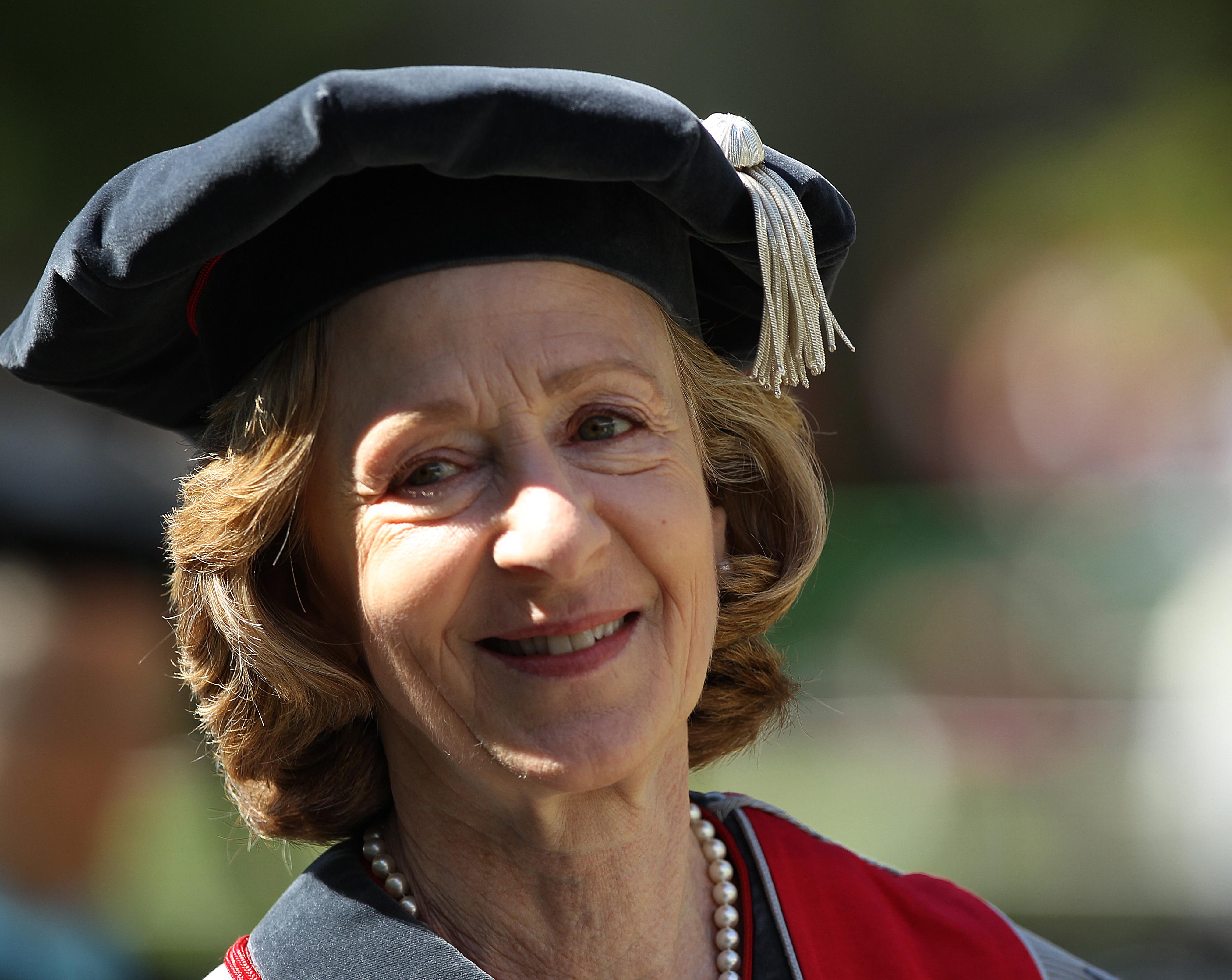 Former MIT President Susan Hockfield.