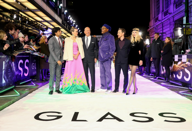 """UK Premiere of M. Night Shyamalan's """"Glass"""""""