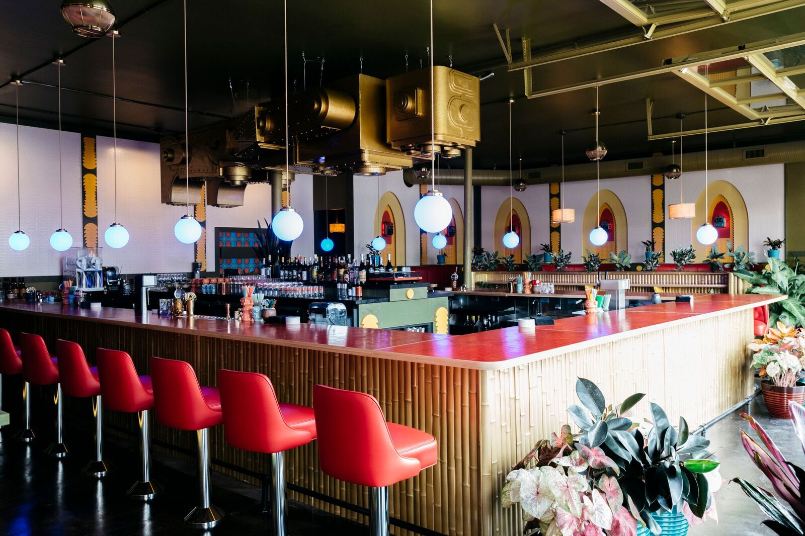 Take a First Look Inside Chopper, East Nashville's Robot-Friendly Tiki Bar