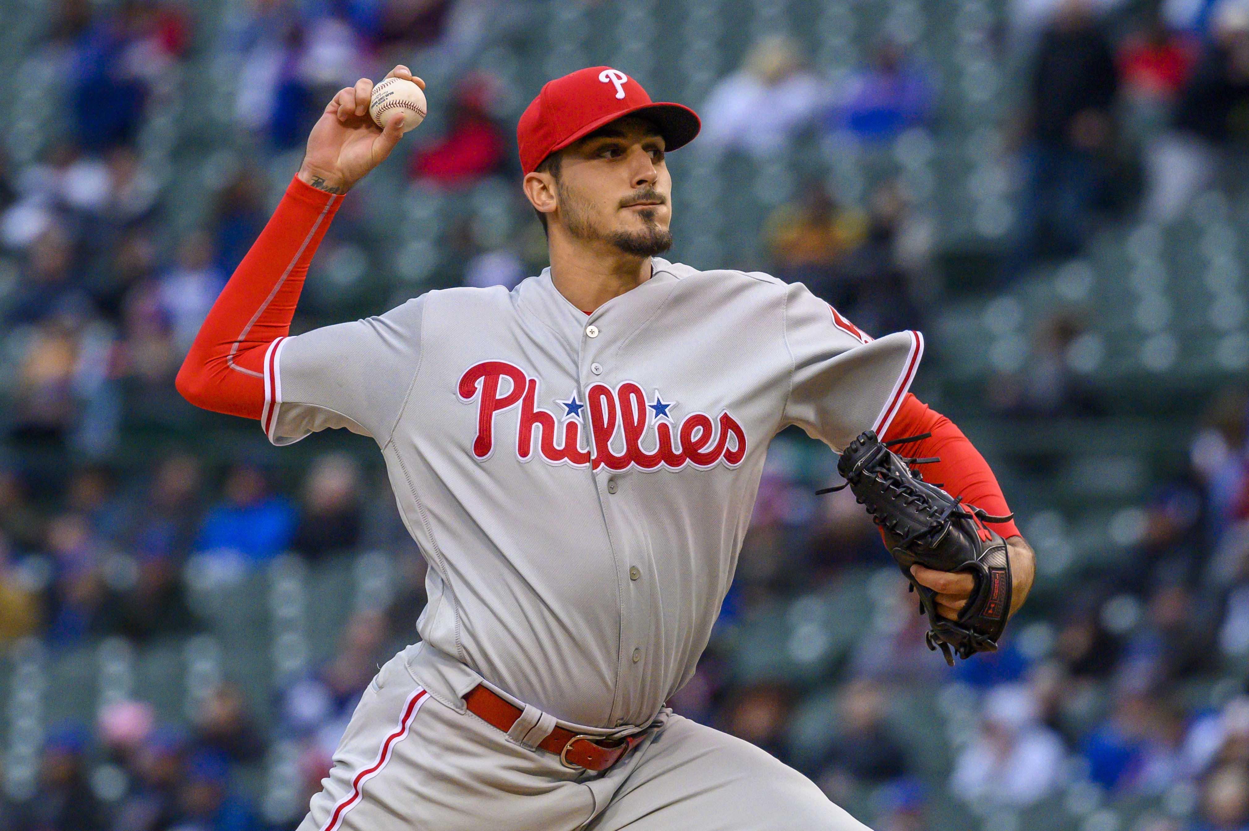 MLB: Philadelphia Phillies at Chicago Cubs