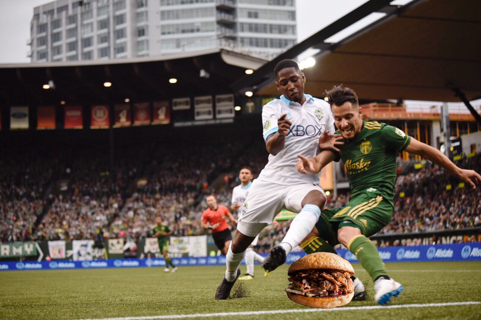 separation shoes 4c4a8 3ab16 We paired the new Providence Park concessions with PTFC players