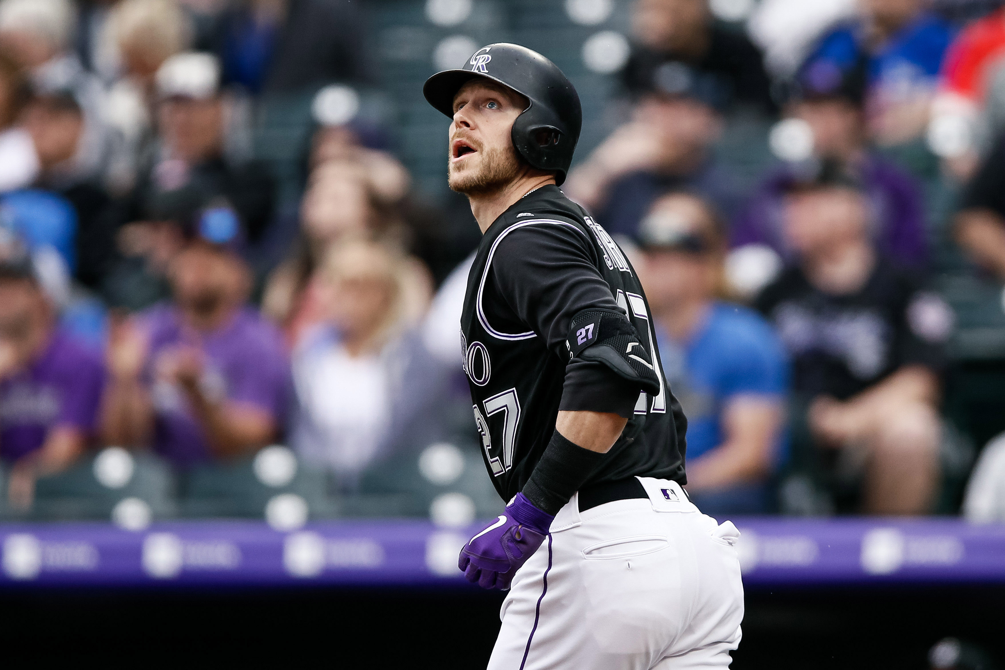 hot sale online 1a140 52df4 Rockies 13, Blue Jays 6: Trevor Story has a career night ...
