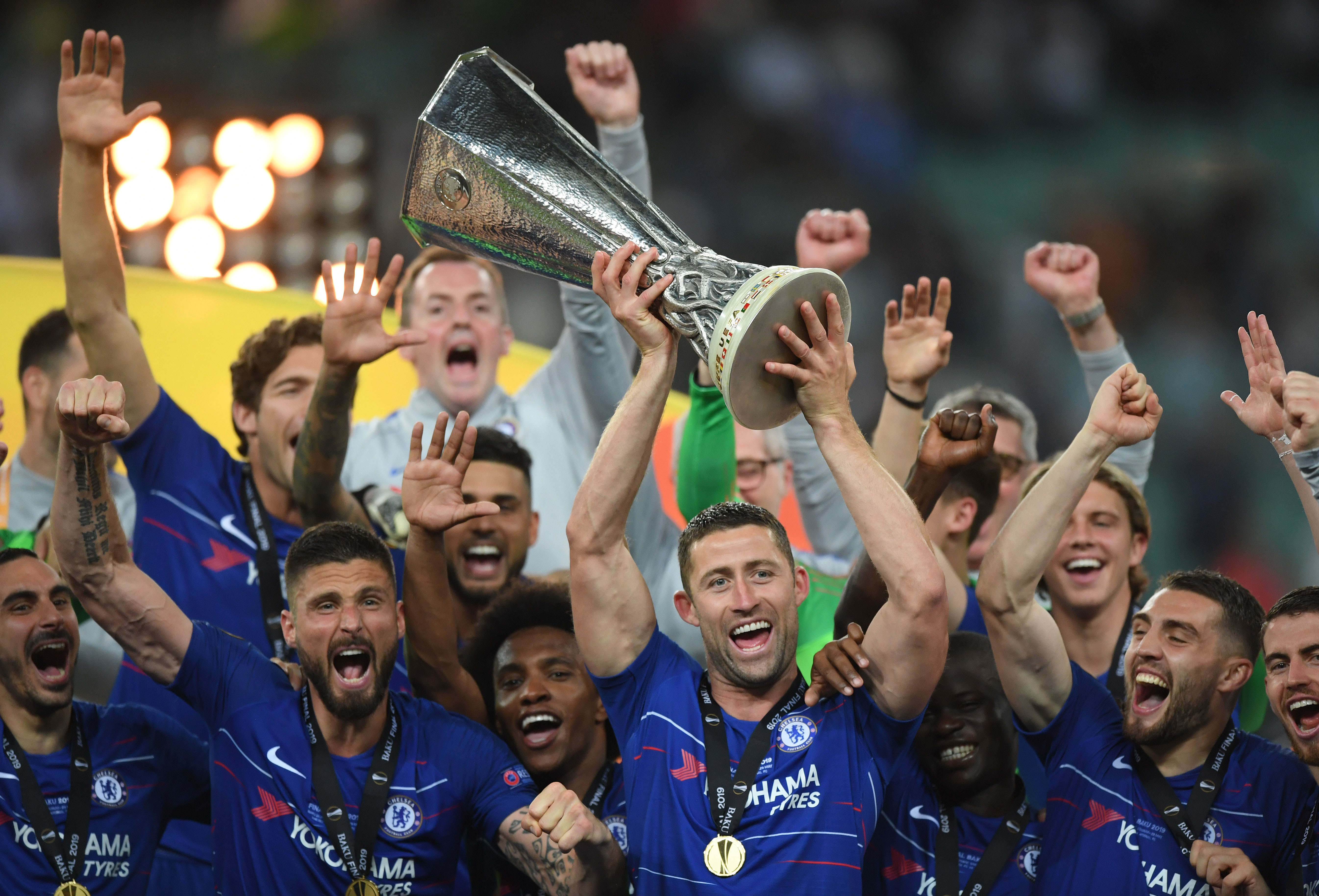 Cahill happy with one more trophy, confident of his own and
