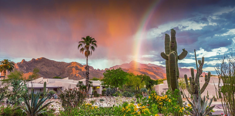 The Westward Look Resort in Tucson, one of the many resort locations where Manne seminars were held.