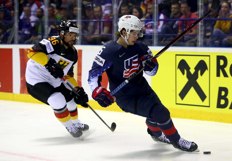 Germany v United States: Group A - 2019 IIHF Ice Hockey World Championship Slovakia
