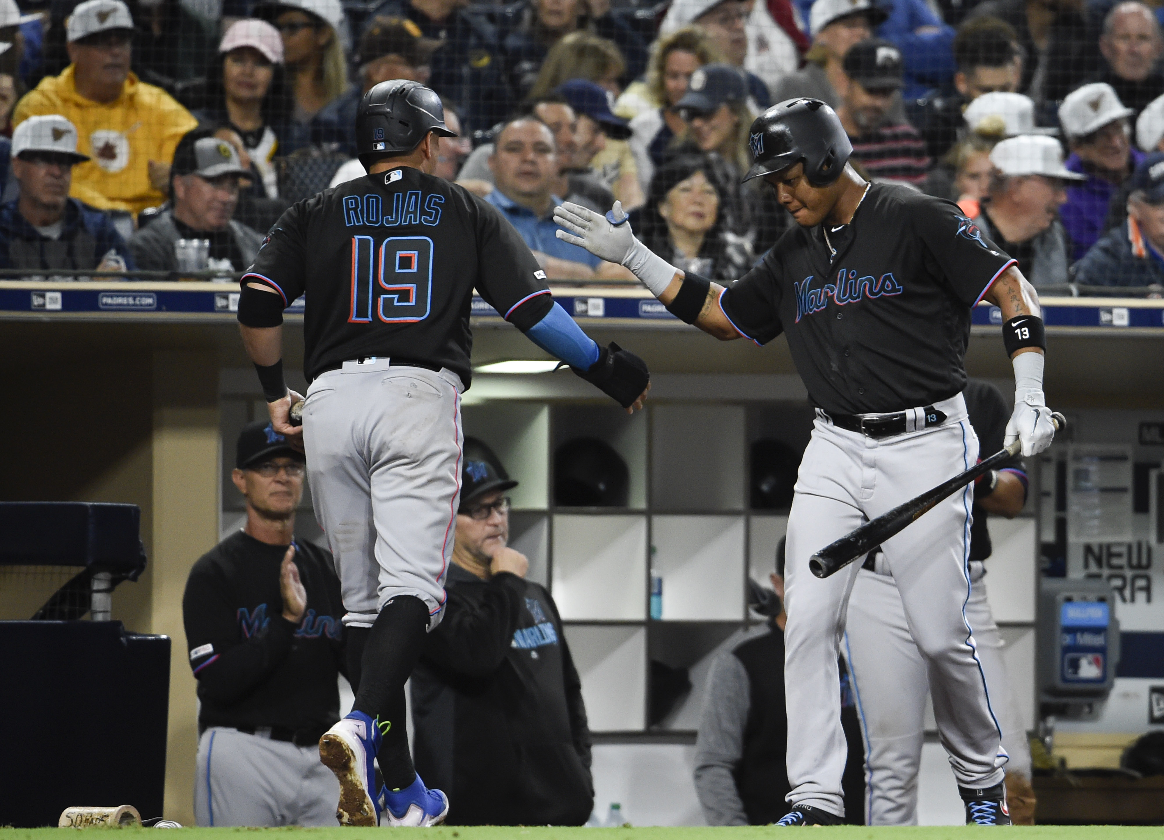 Marlins With An Explosion Of Offense Top The Padres 9 3