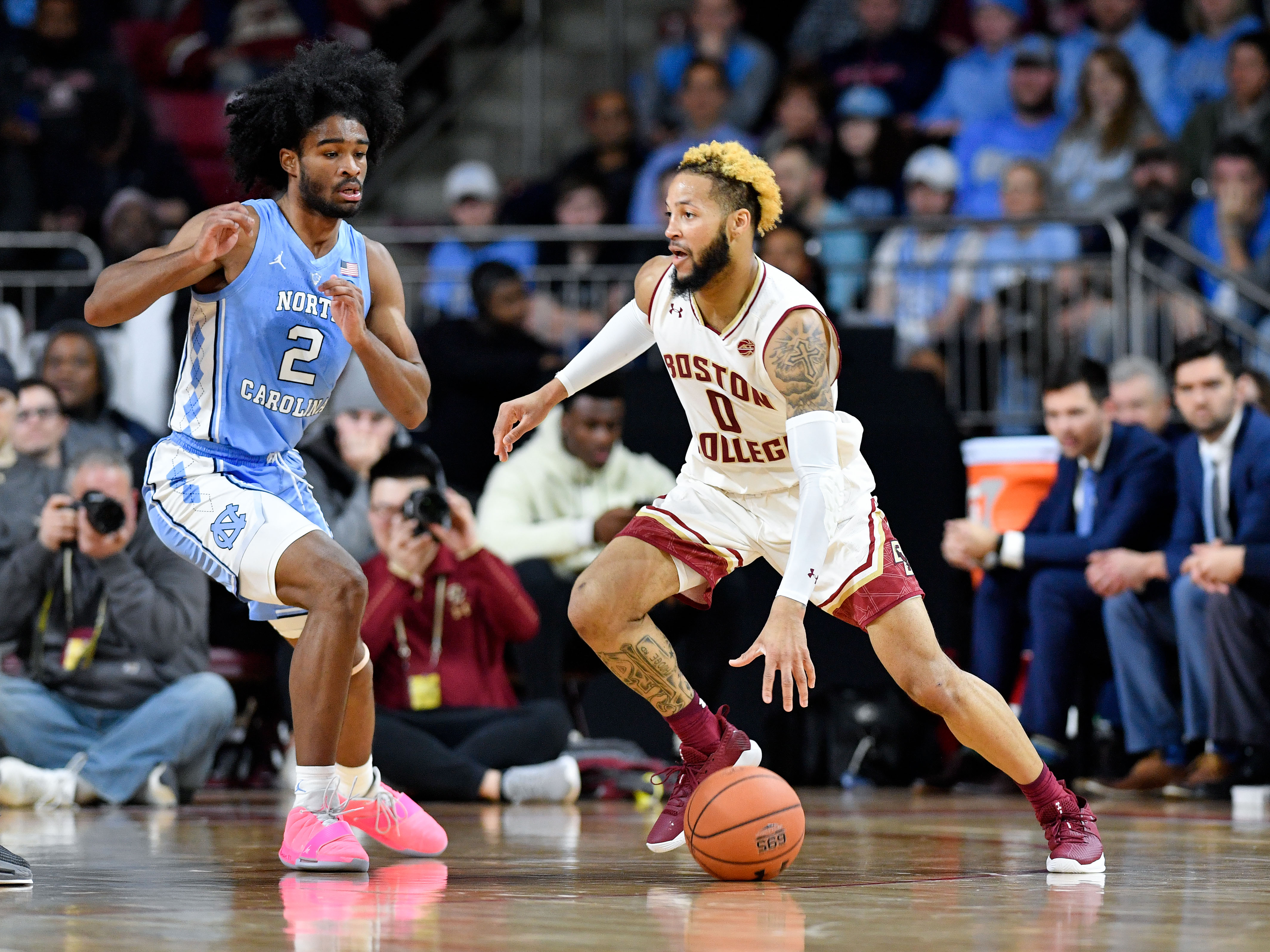 NCAA Basketball: North Carolina at Boston College
