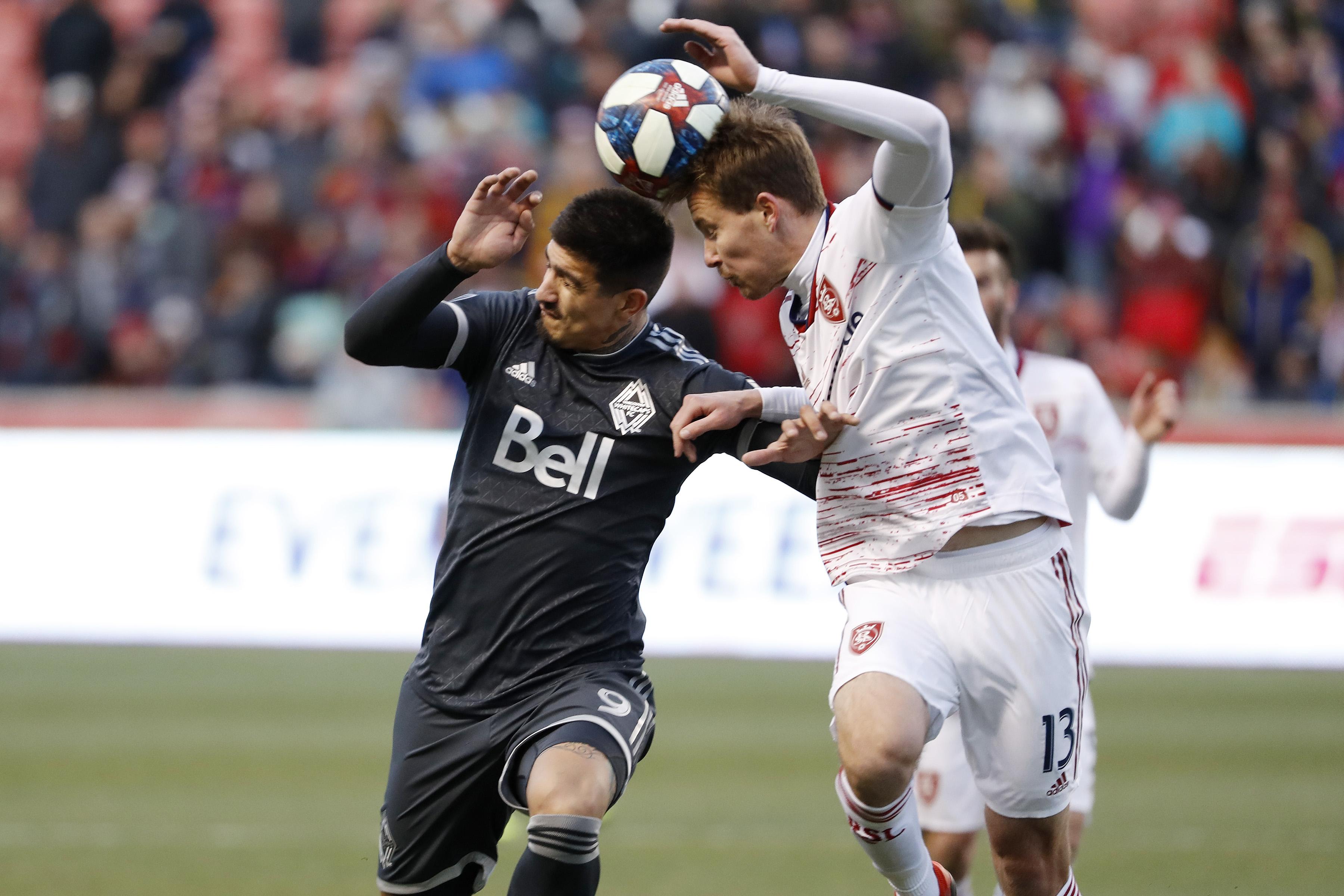 MLS: Vancouver Whitecaps FC at Real Salt Lake