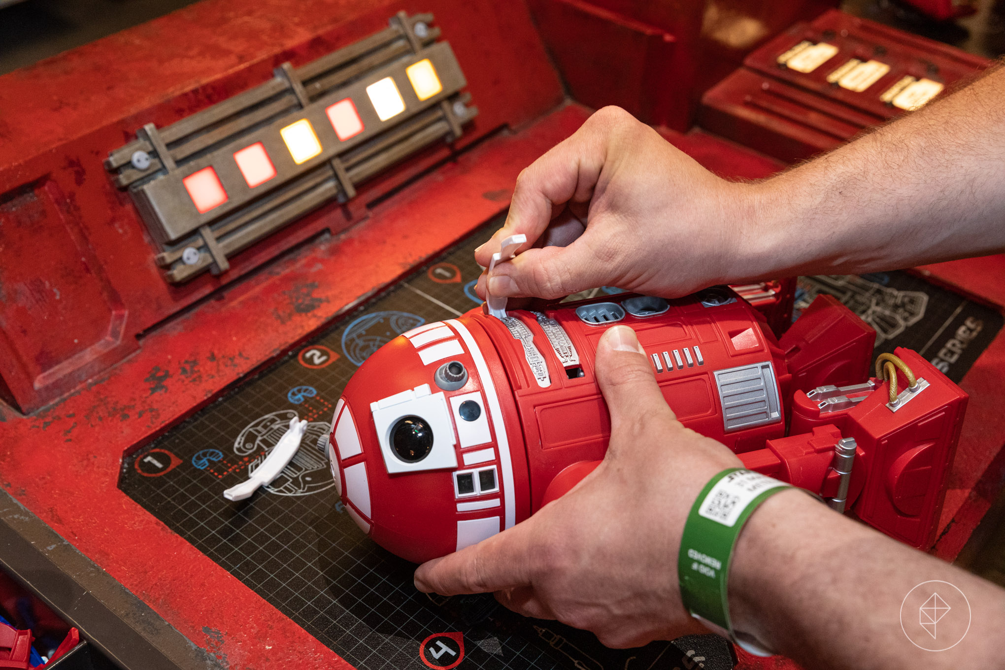 Star Wars Land's custom droid-building experience requires some strategy