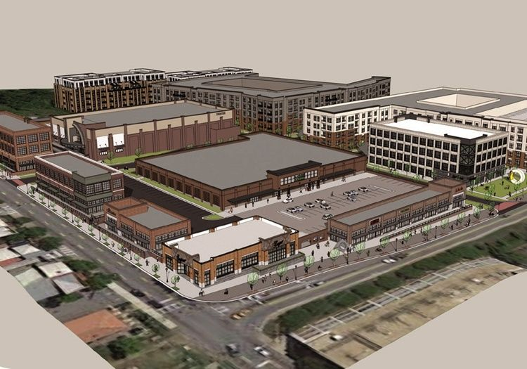 On Memorial Drive, massive Publix soon to open at Fuqua's Madison Yards complex
