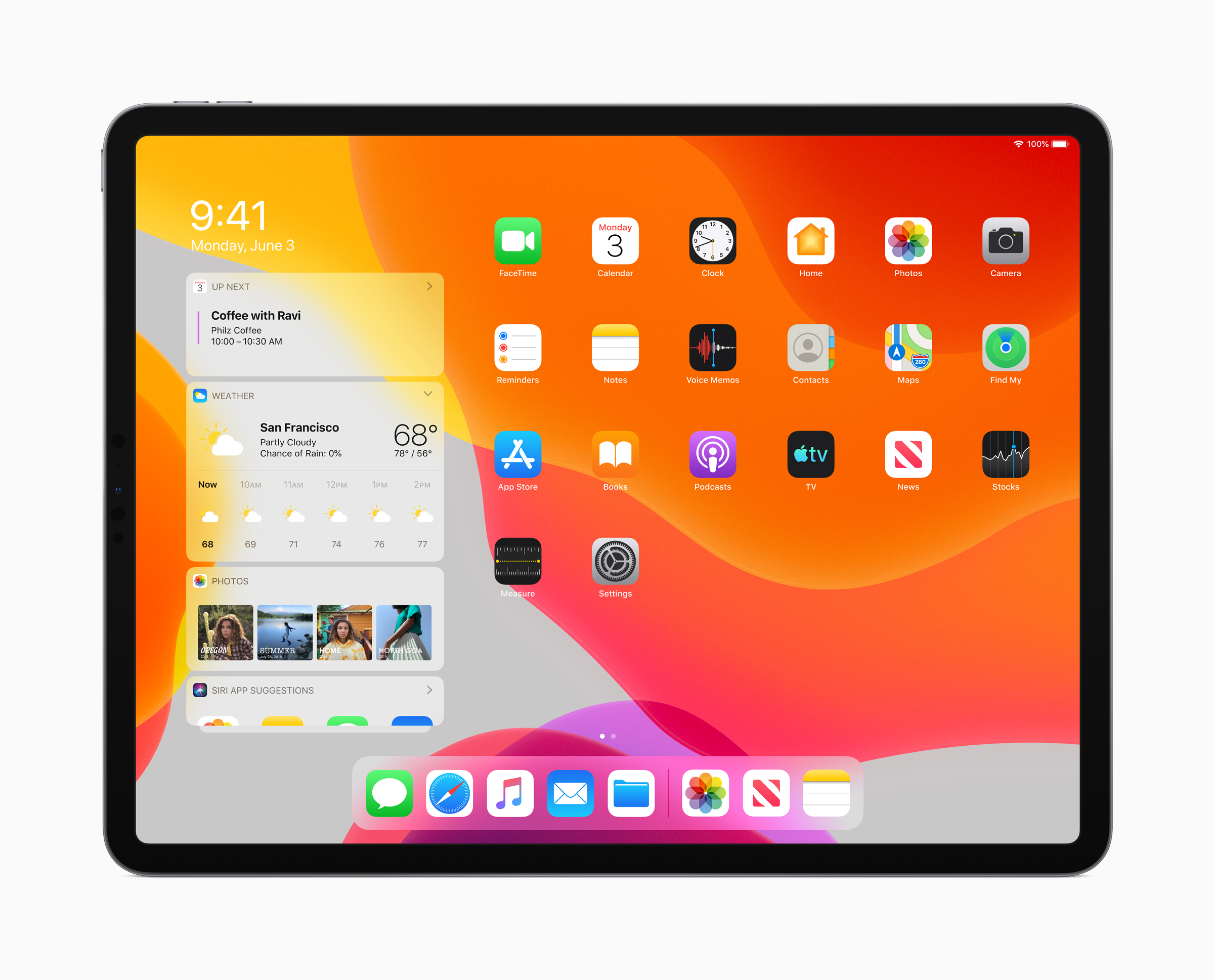 Apple iPadOS for iPad: new home screen, multitasking