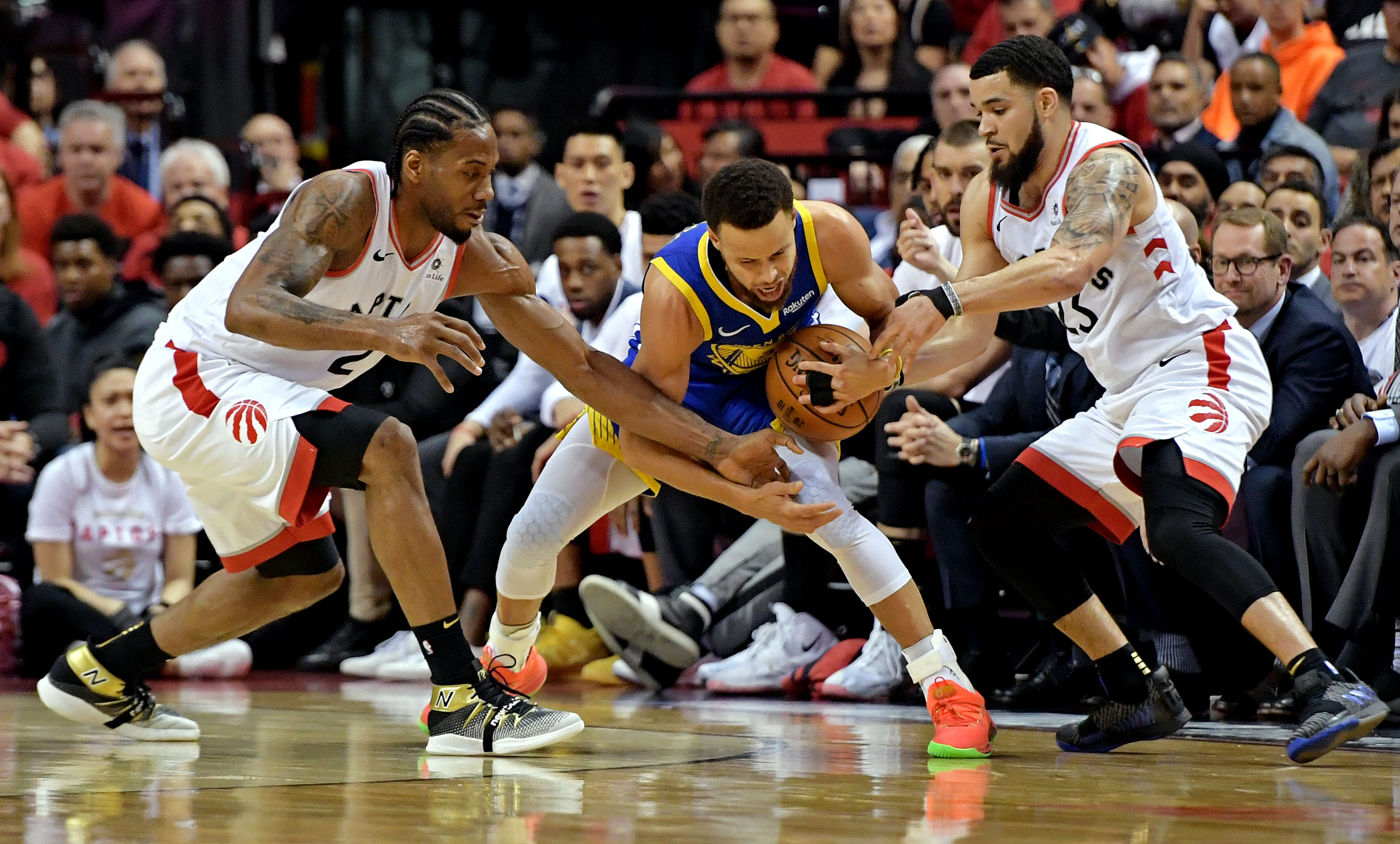 The Raptors used a middle school defense to (briefly) stop the Warriors. Can it work again?