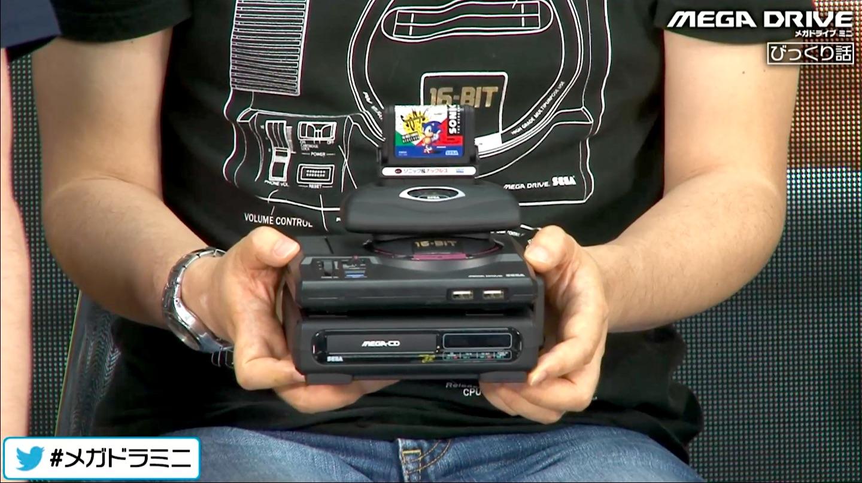 The Sega Genesis Mini is getting its own ridiculous mini tower