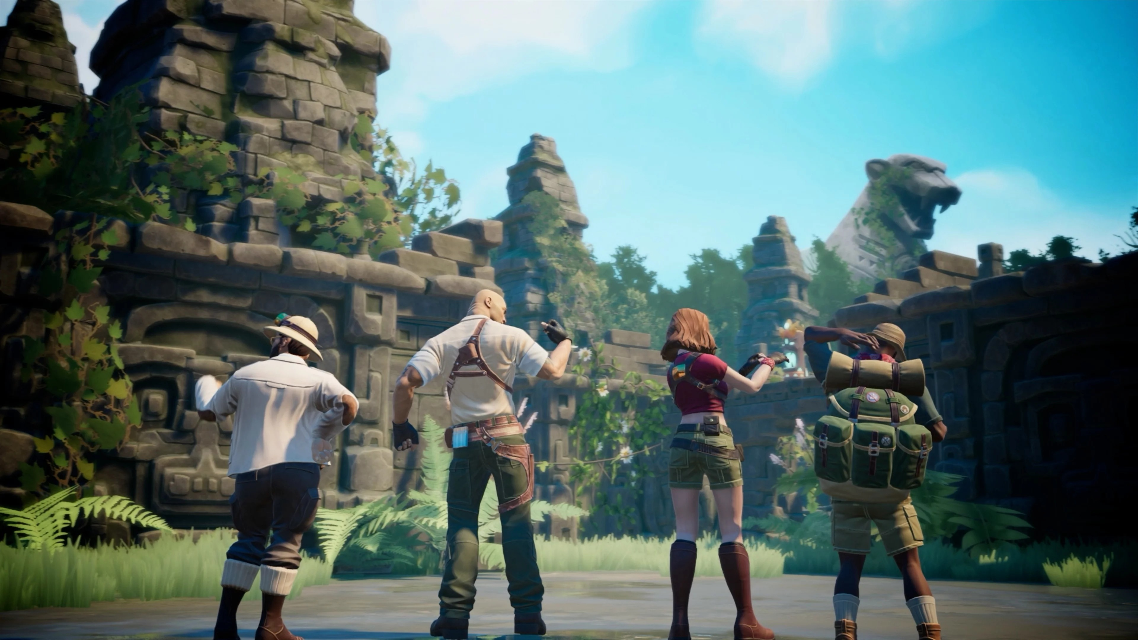Jumanji is getting a 4-player video game tie-in