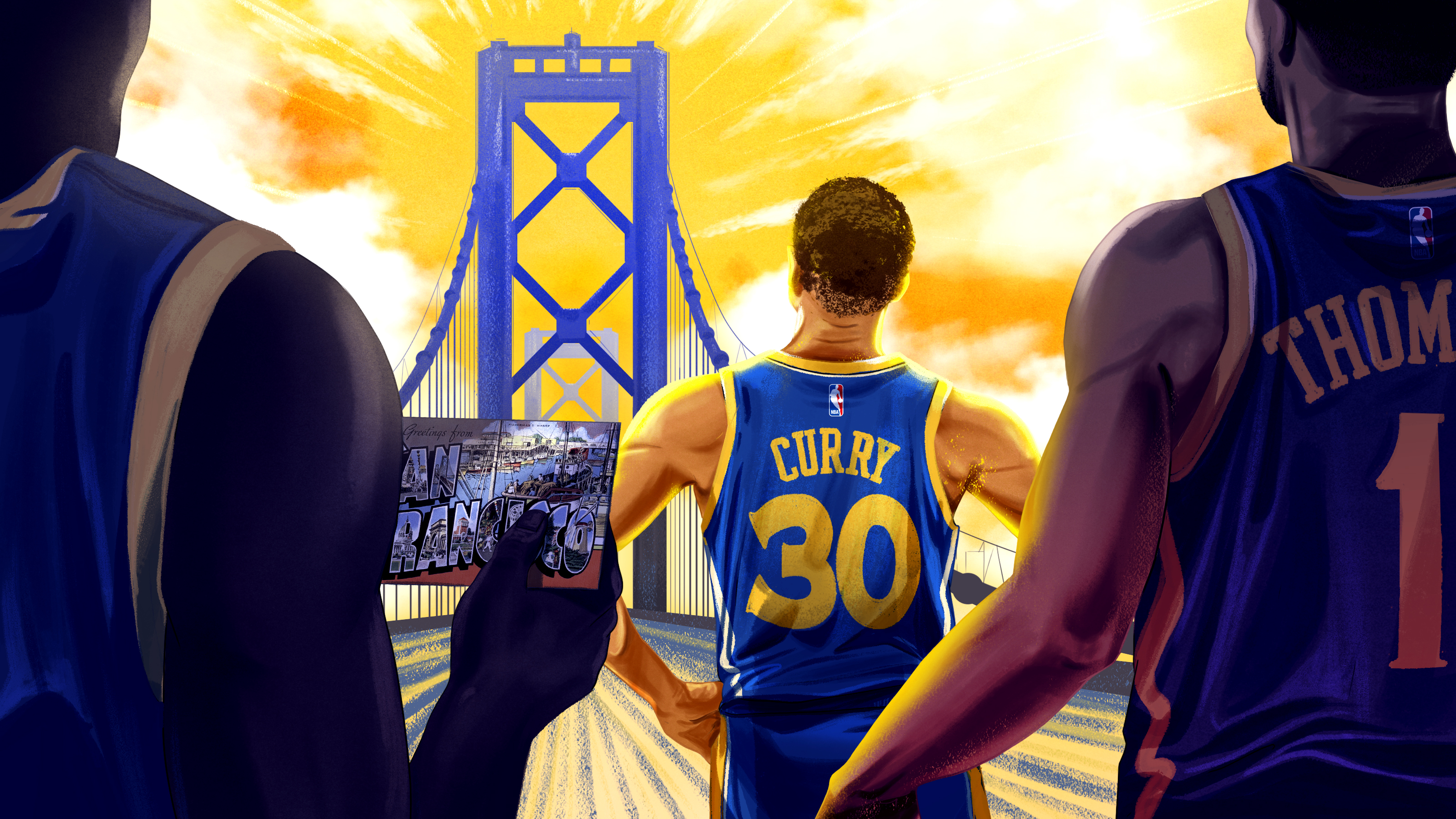 784083683 Eleven Miles, but a World Away: The Warriors Make Their Last Stand in  Oakland