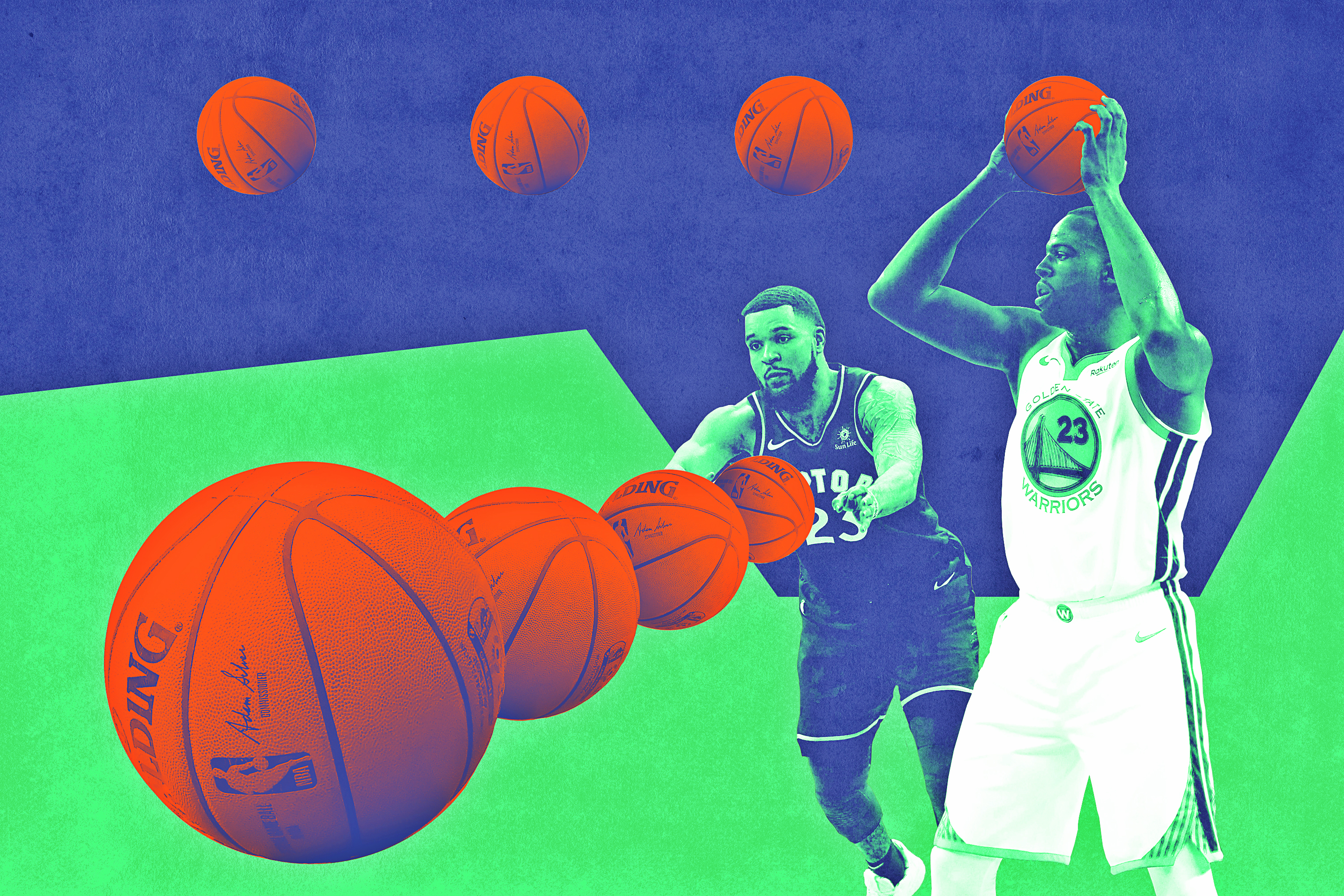 Are There Any Draymonds or VanVleets in This Year's NBA